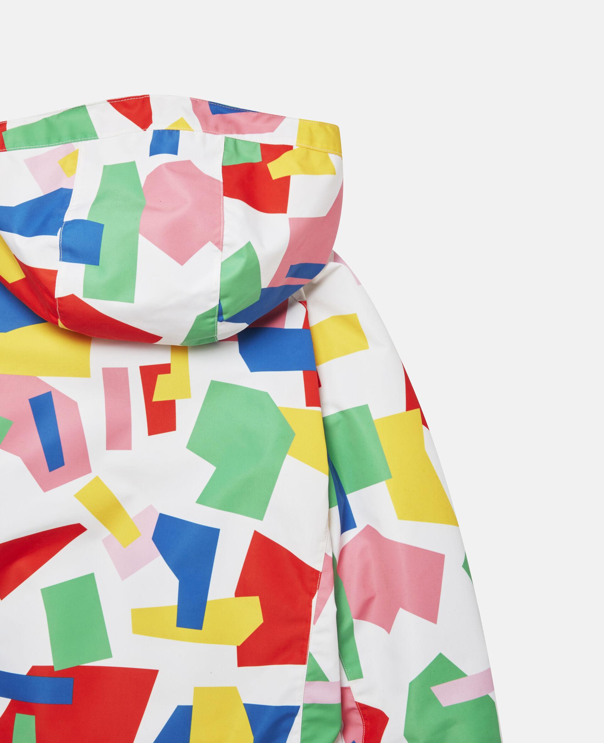 Colourblock Ski Jacket-Multicolour-large image number 2