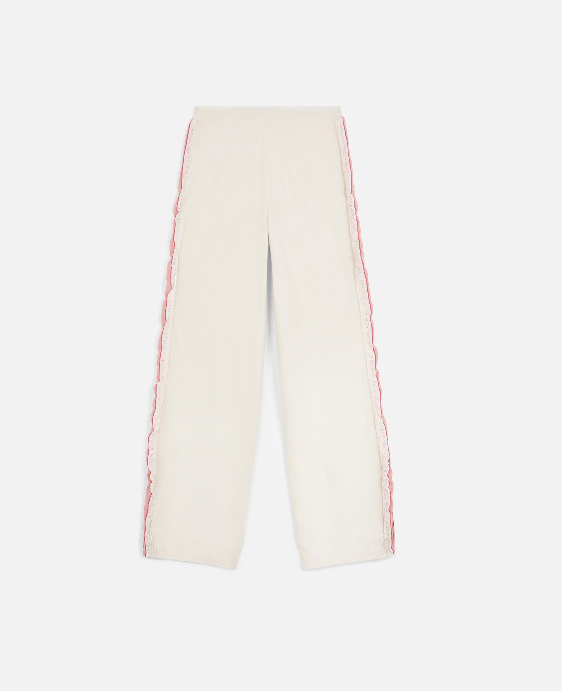 Monogram Wool Trousers-Beige-large image number 0