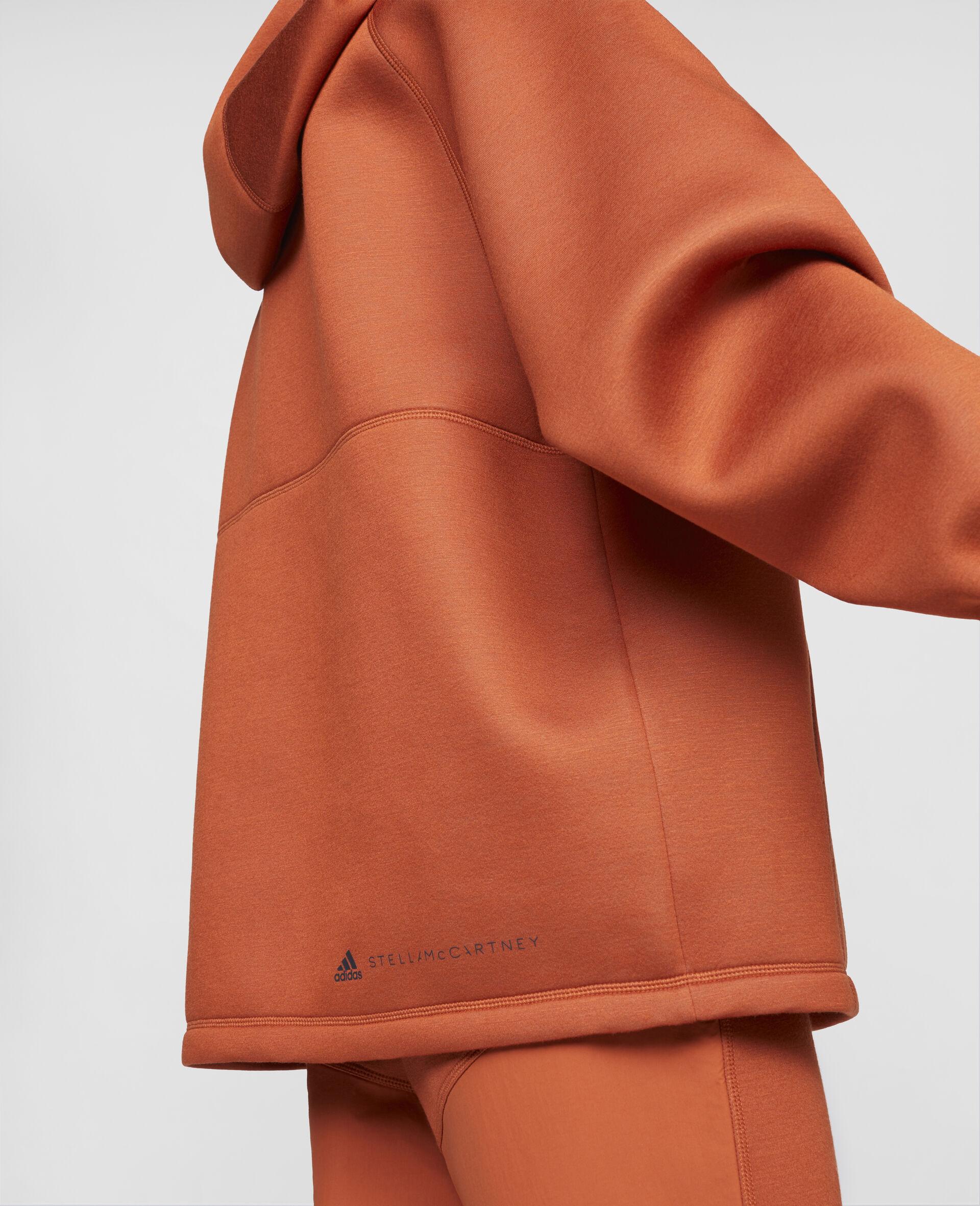 Sweat de sport à capuche orange-Orange-large image number 3