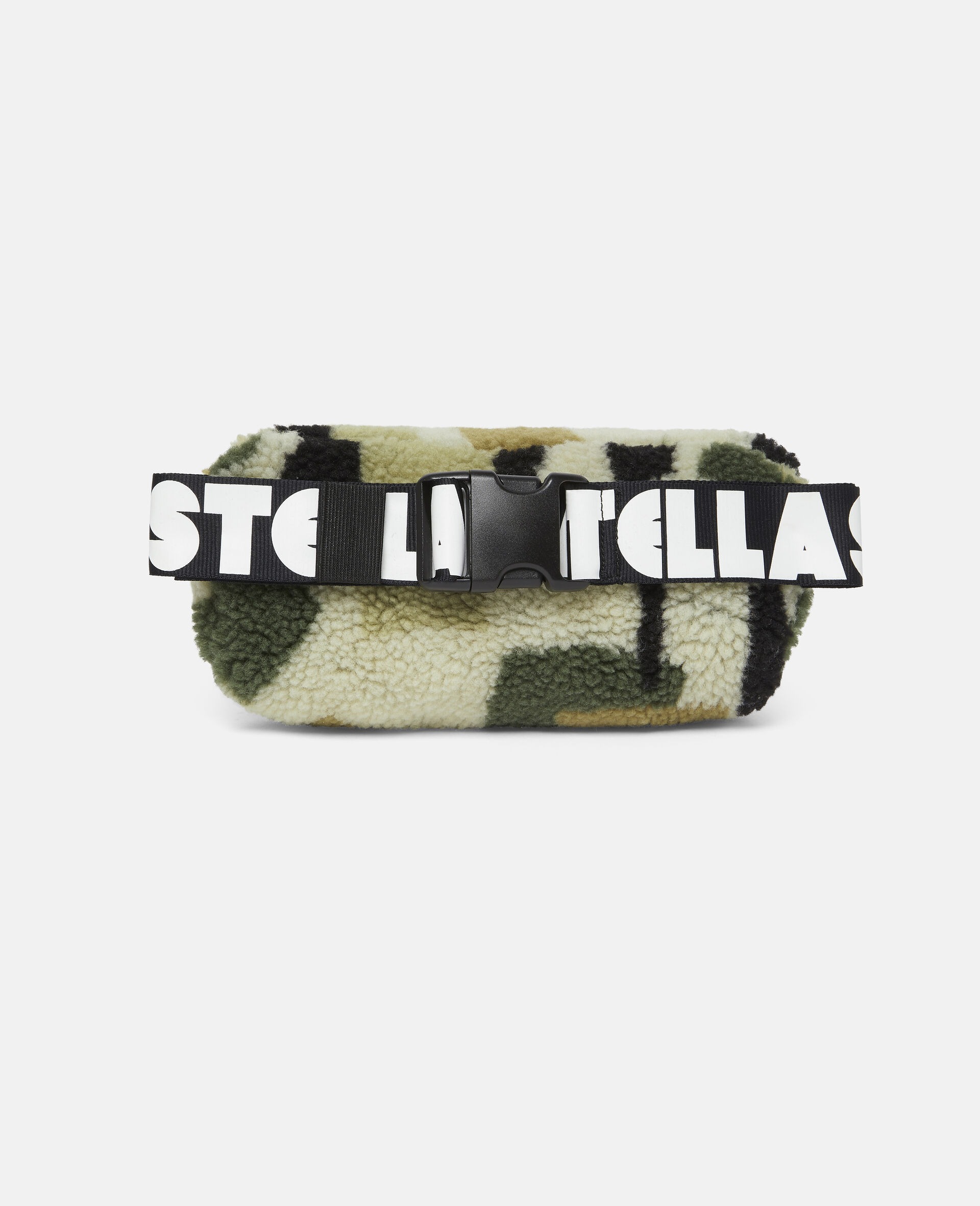 Military Camouflage Teddy Bum Bag-Beige-large image number 3