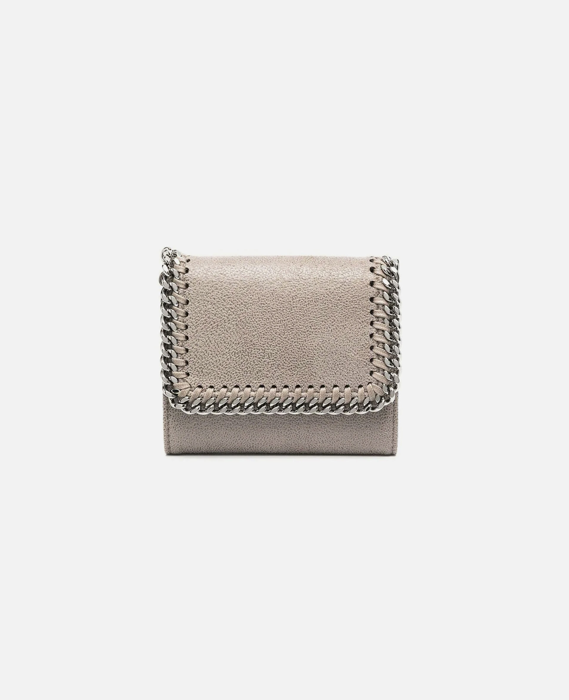 Falabella Small Flap Wallet-Grey-large image number 0