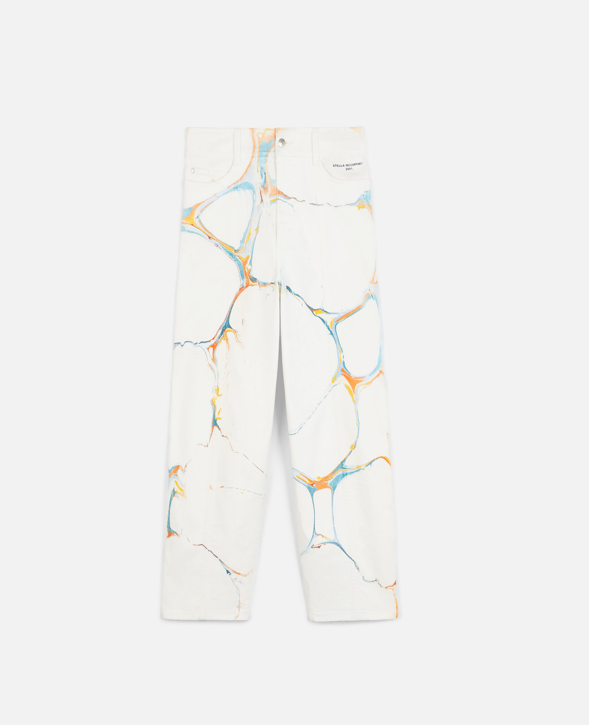 The Straight Leg Jeans-Multicolour-large image number 0