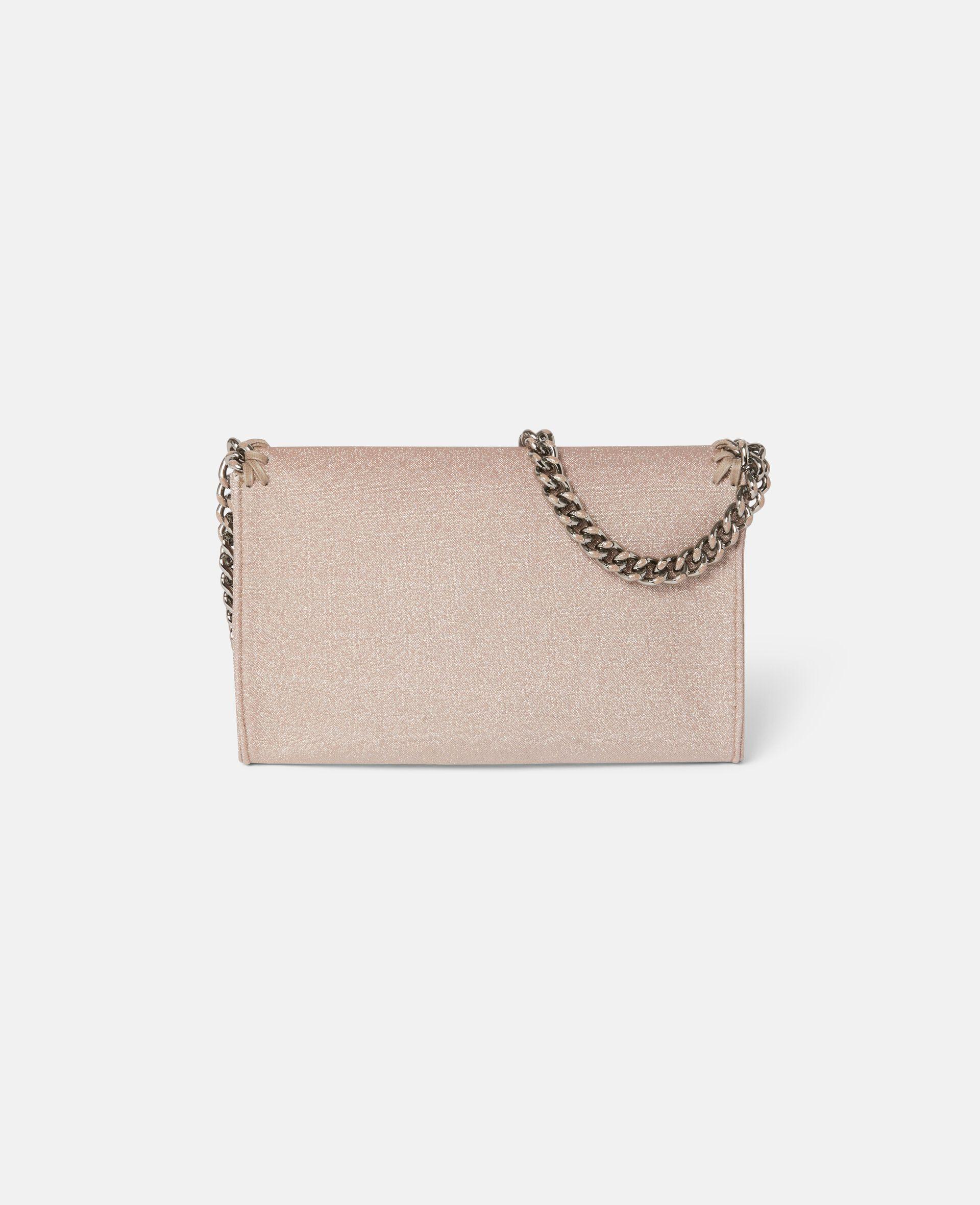 Falabella Glitter Mini Shoulder Bag -Pink-large image number 2