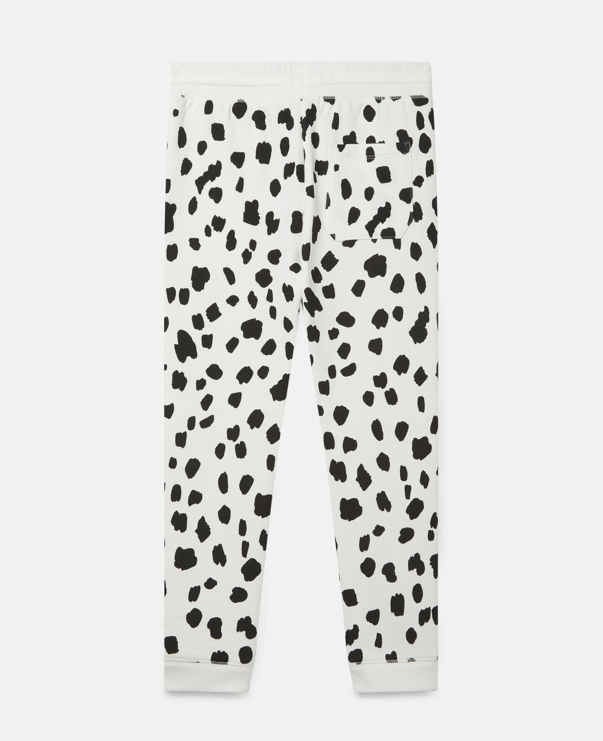 Dalmatian Spots Corduroy Trousers-White-large image number 3
