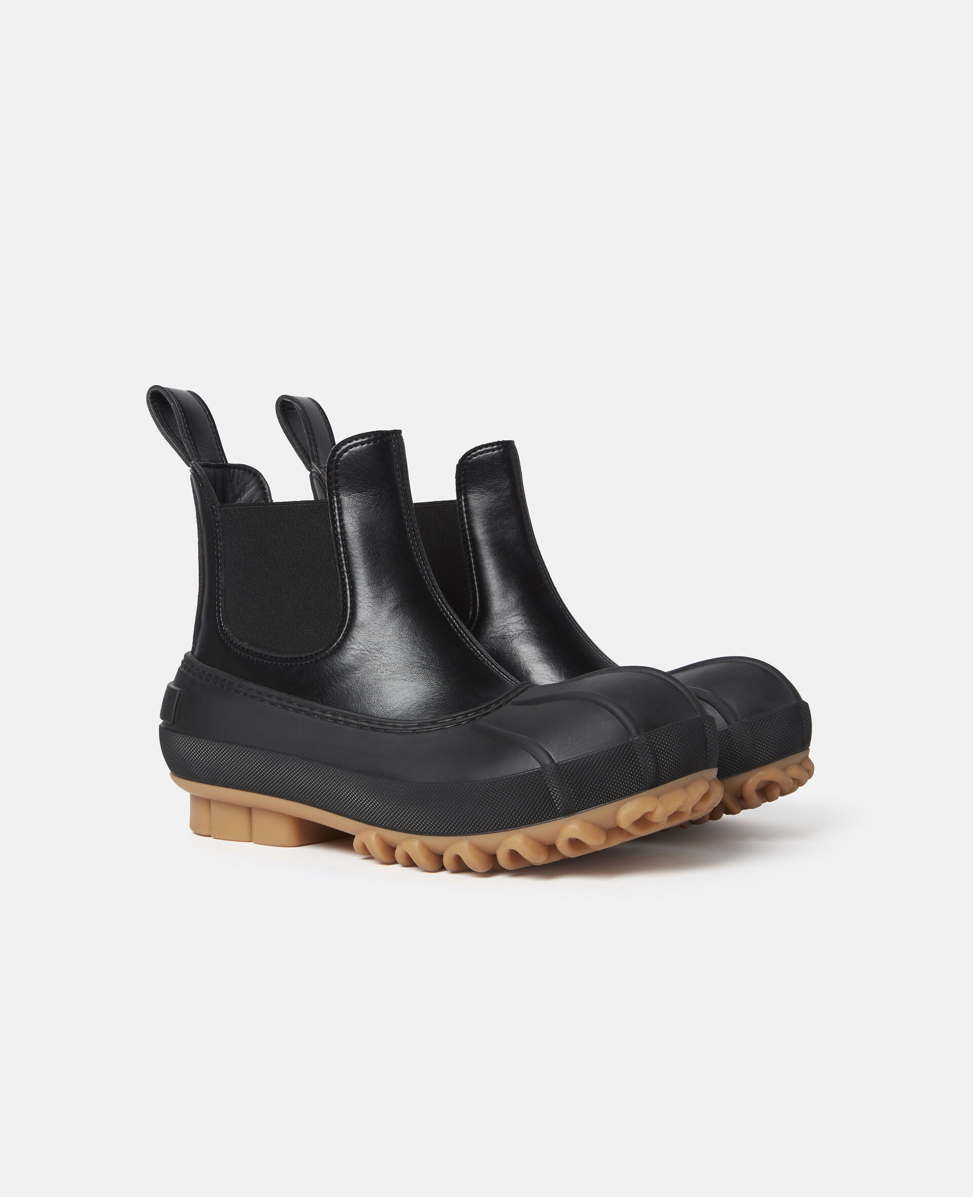Duck City Chelsea Boots-Black-large image number 1