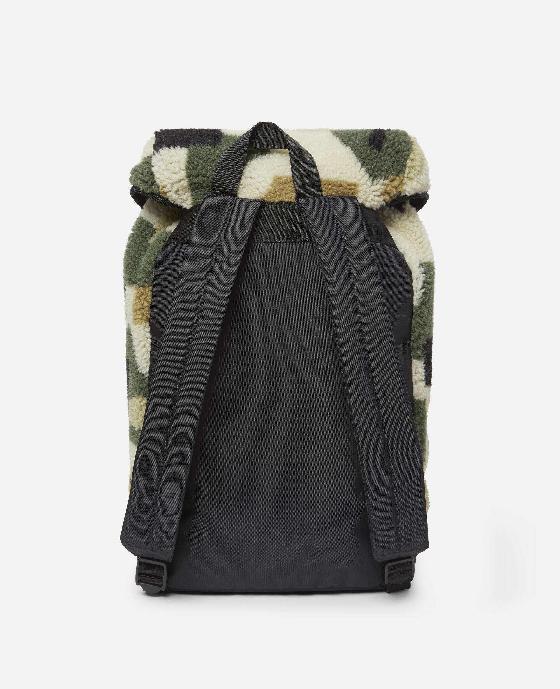 Military Camouflage Teddy Backpack-Beige-large image number 3