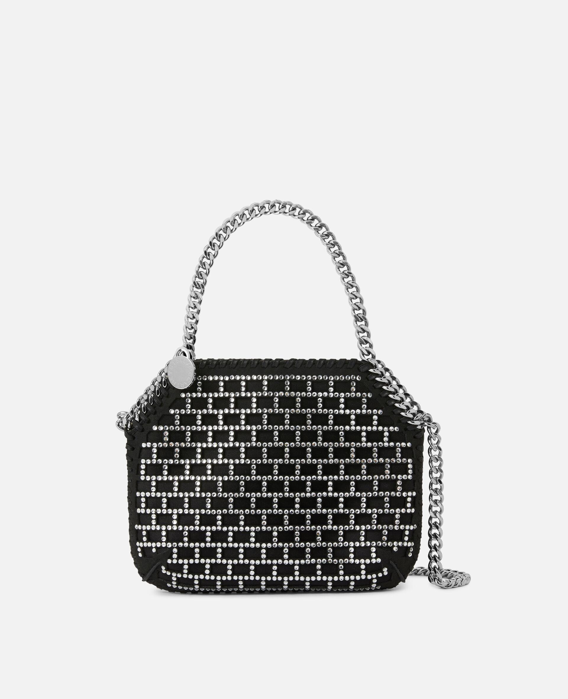Mini Falabella Shoulder Bag -Black-large image number 0