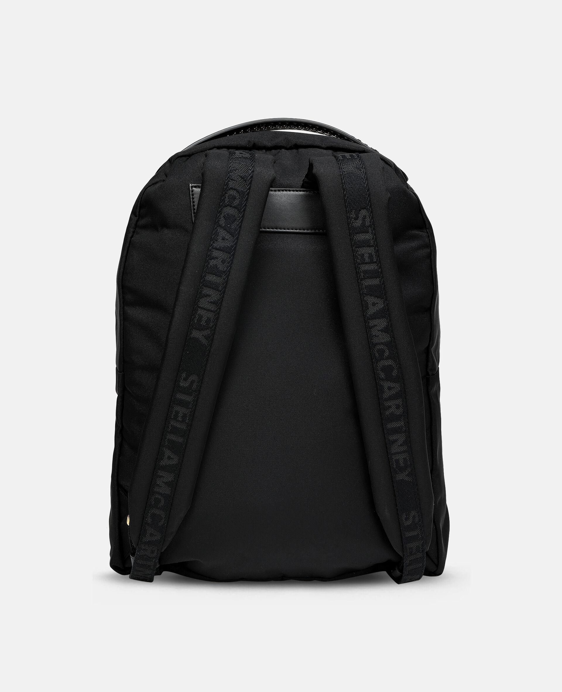 Falabella Logo Go Backpack-Black-large image number 2