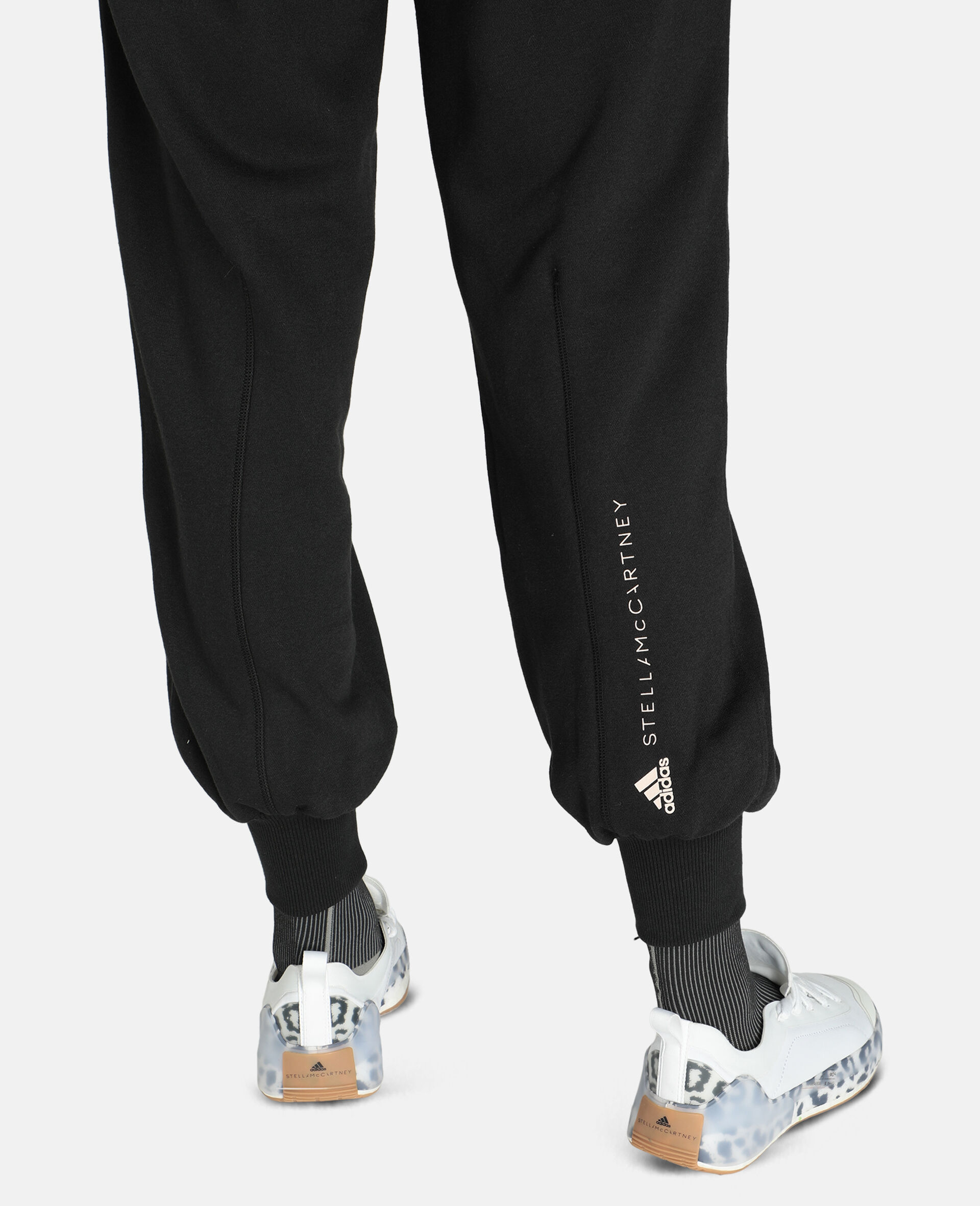 Gray Training Sweatpants-Black-large image number 3