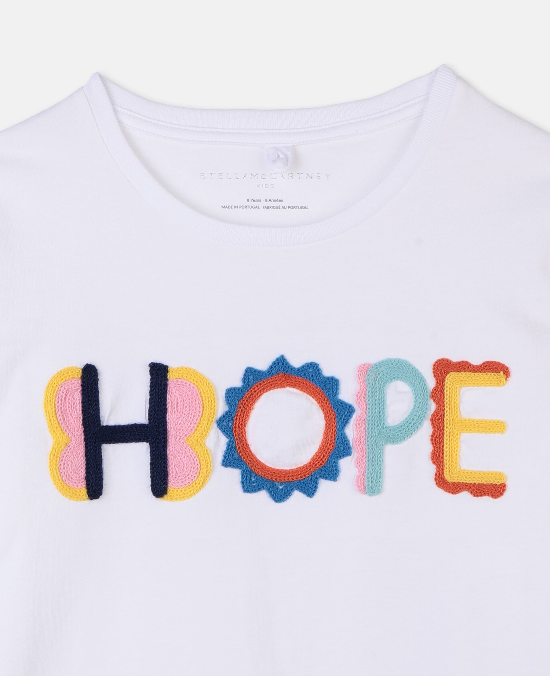 Hope Cotton T-shirt-White-large image number 1