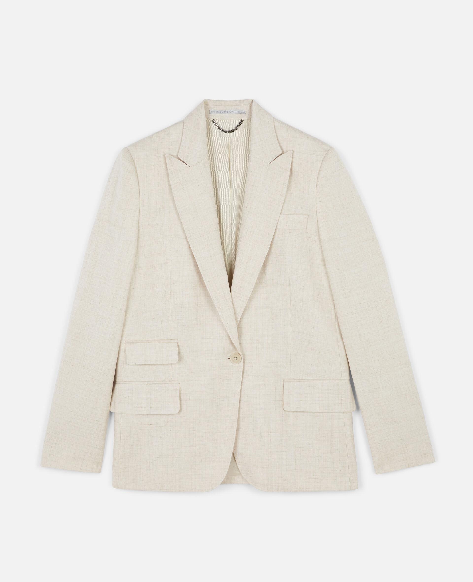 Bell Tailored Jacket-Beige-large image number 0