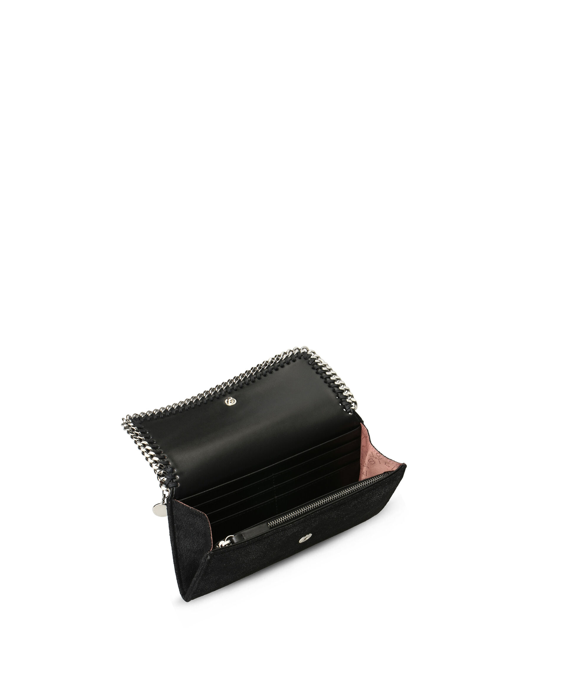Falabella Continental Wallet-Grey-large image number 2