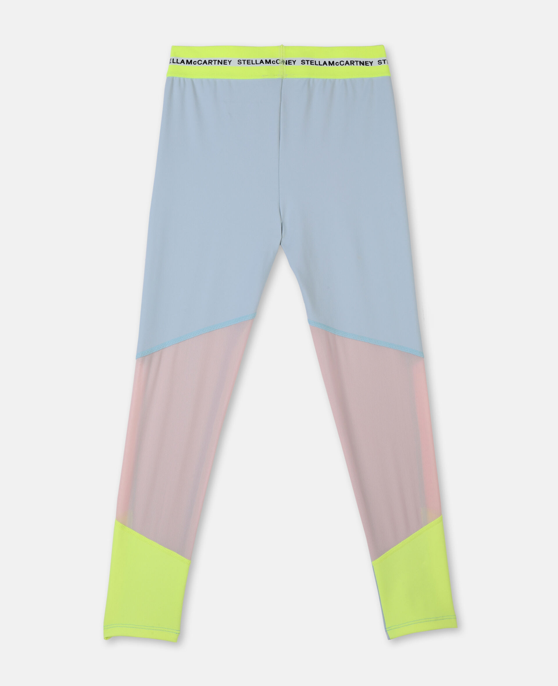 Heavy Jersey Active Leggings -Blue-large image number 3