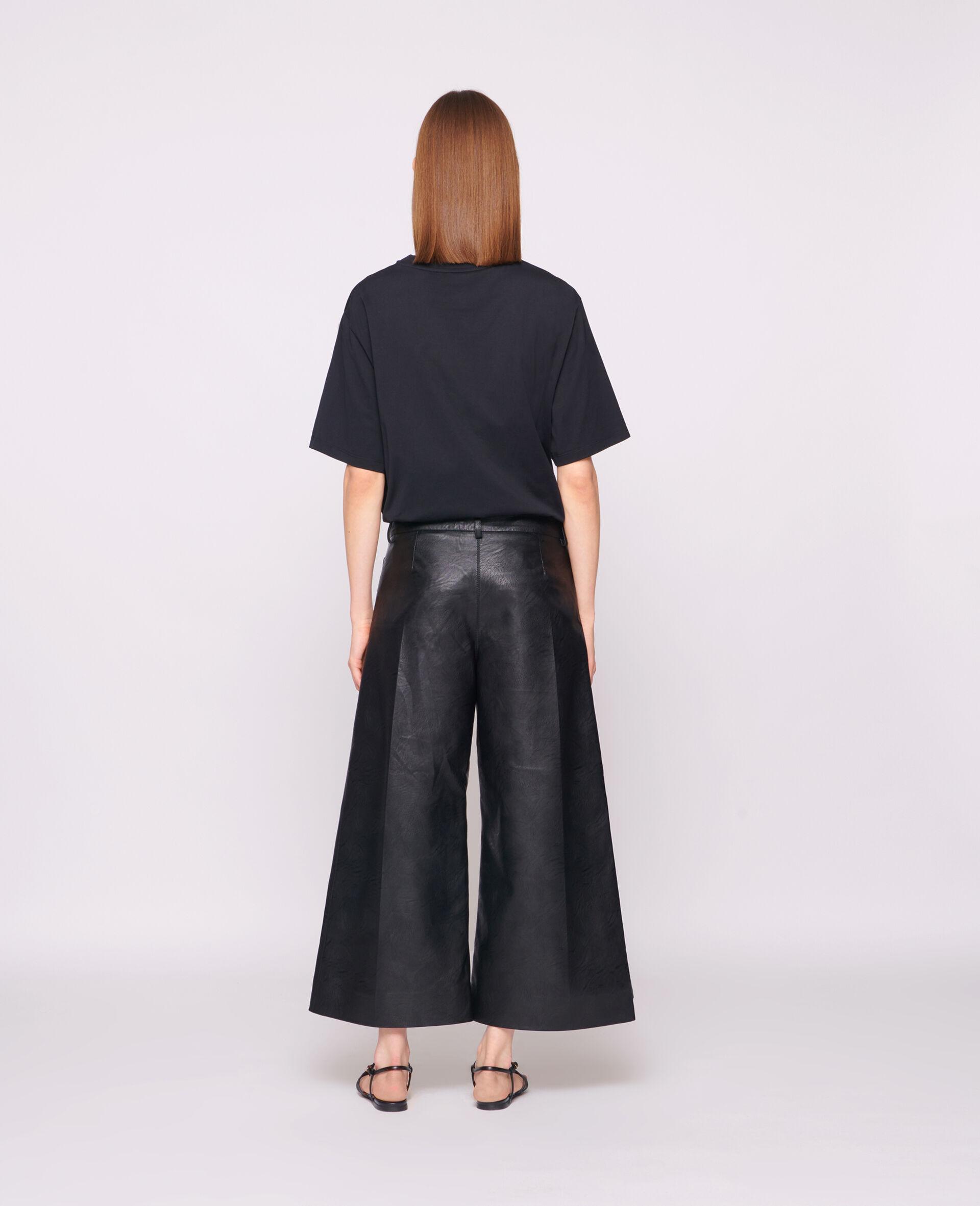 23 OBS 有机棉 T 恤-黑色-large image number 2