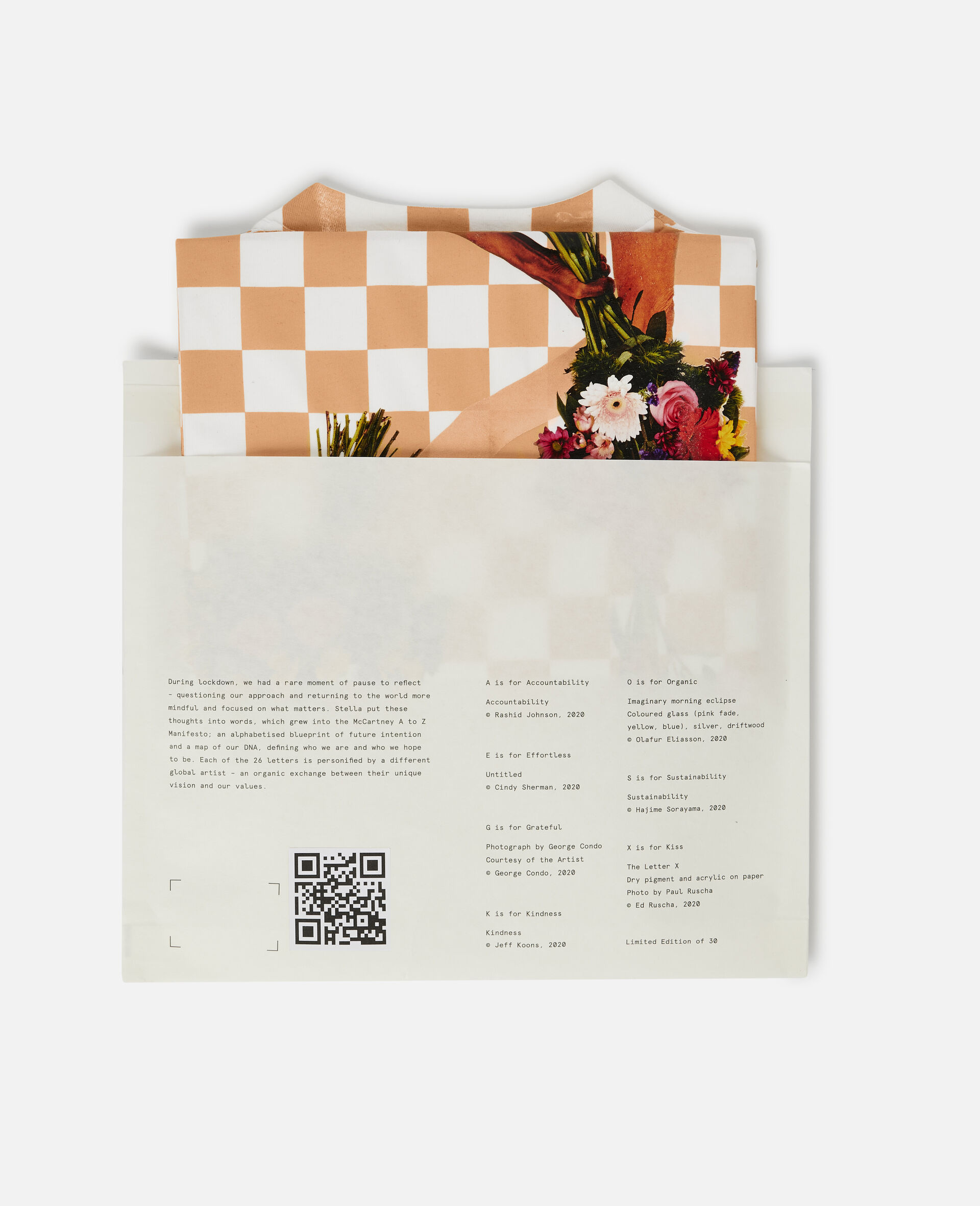 """Jeff Koons 字母""""K"""" T 恤-白色-large image number 5"""