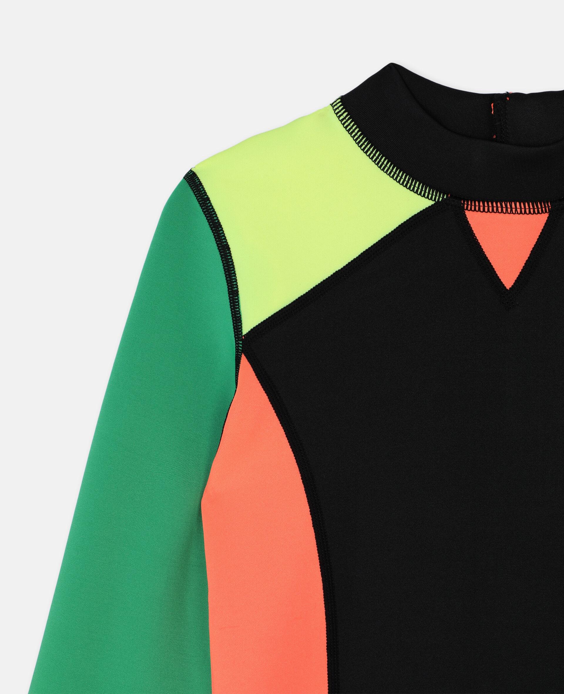 Multicolour Scuba Swim T-shirt -Multicolour-large image number 2