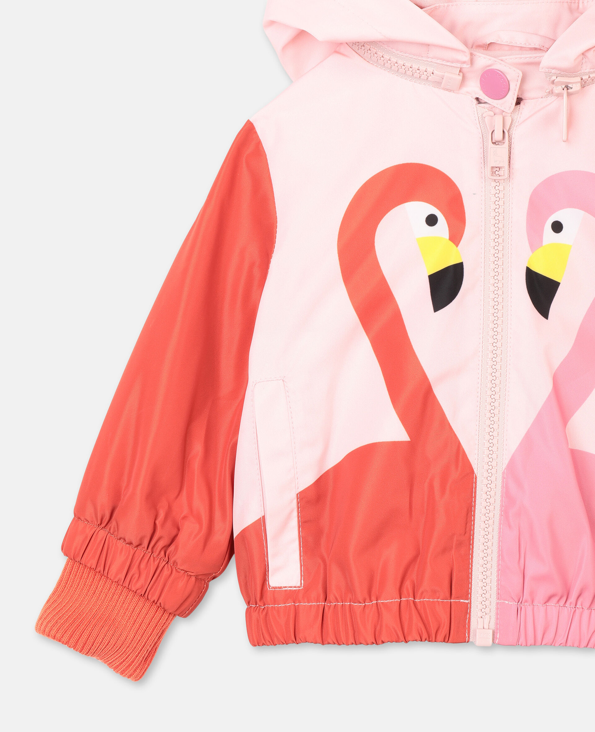 Flamingo Hoodie Jacket -Pink-large image number 1