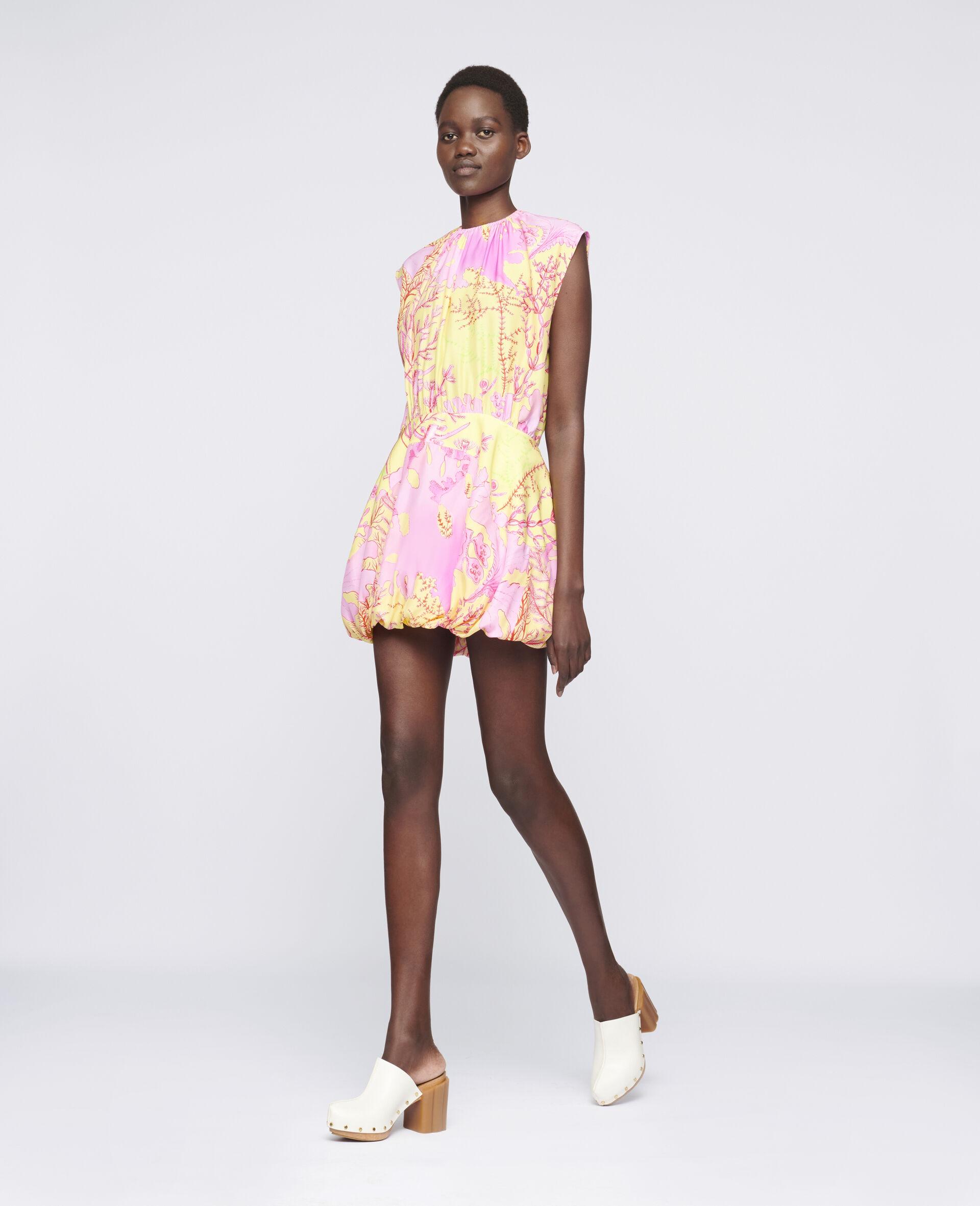 Bethany Silk Dress-Multicolour-large image number 1