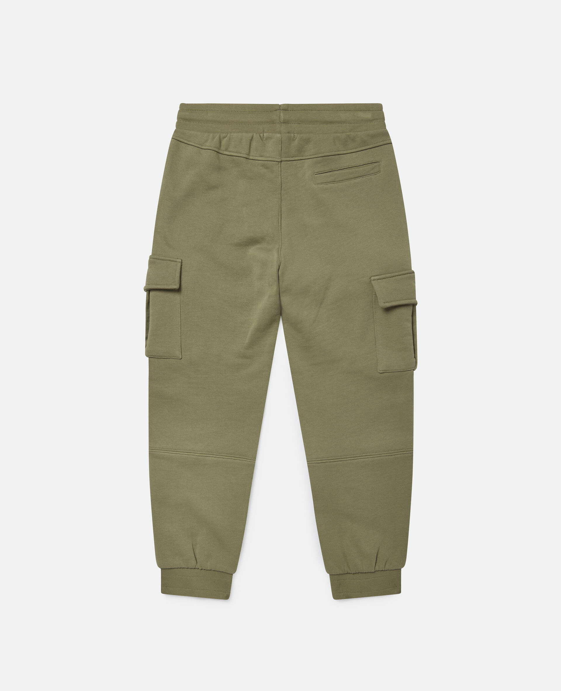 Cargo Fleece Joggers-Green-large image number 3