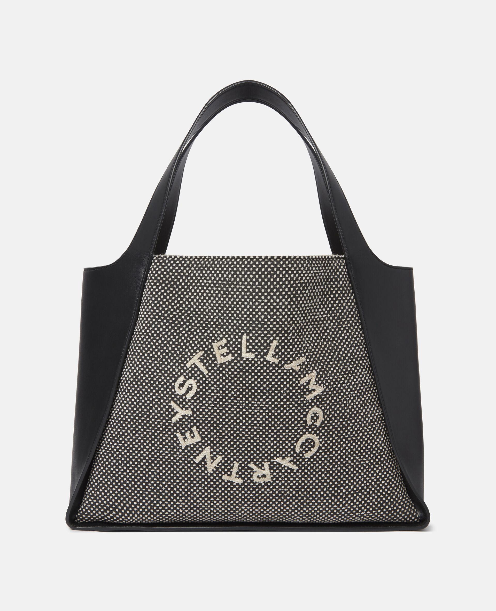 Stella Logo Tote Bag-Beige-large image number 0