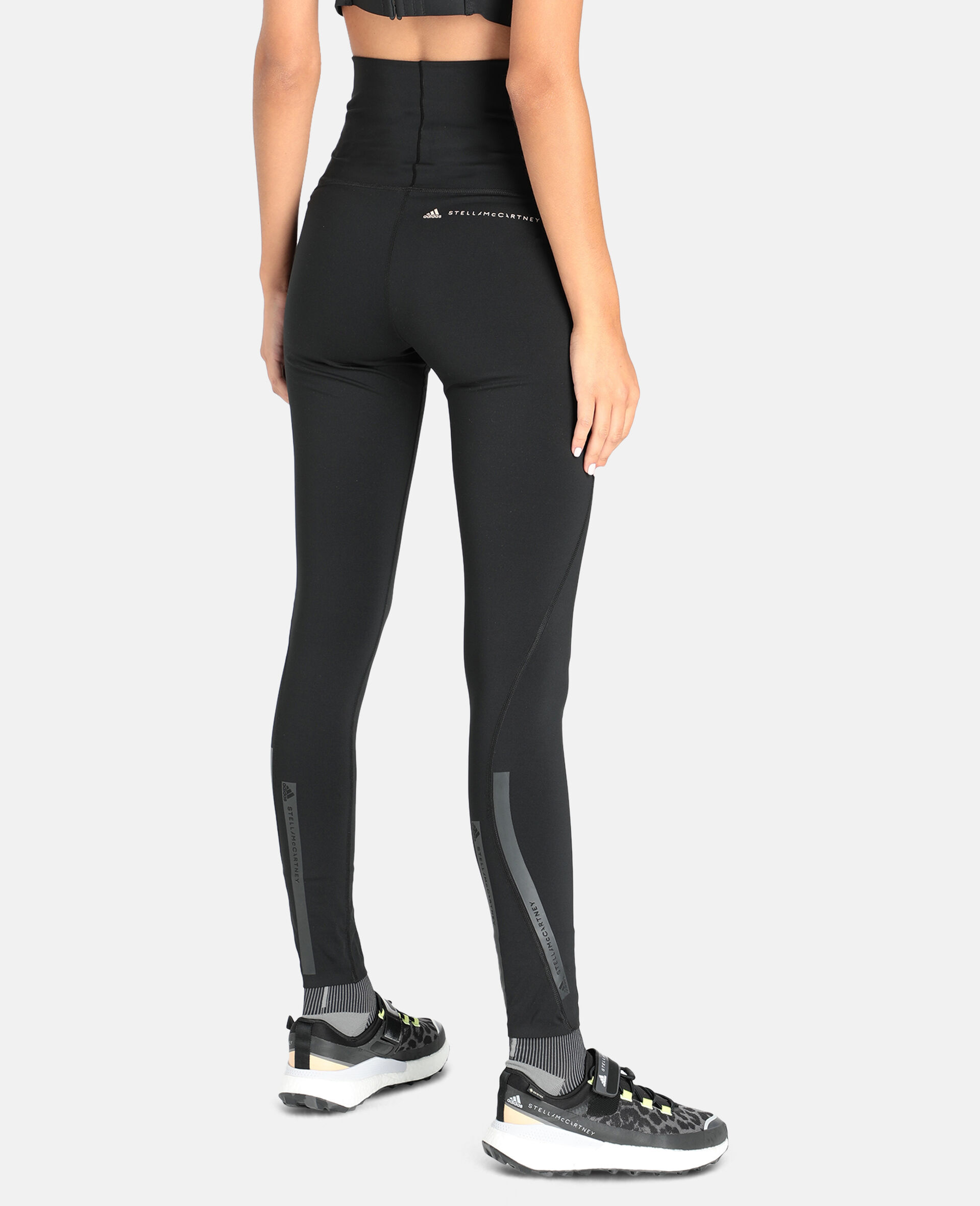 Black TruePurpose Training Tights-Black-large image number 2
