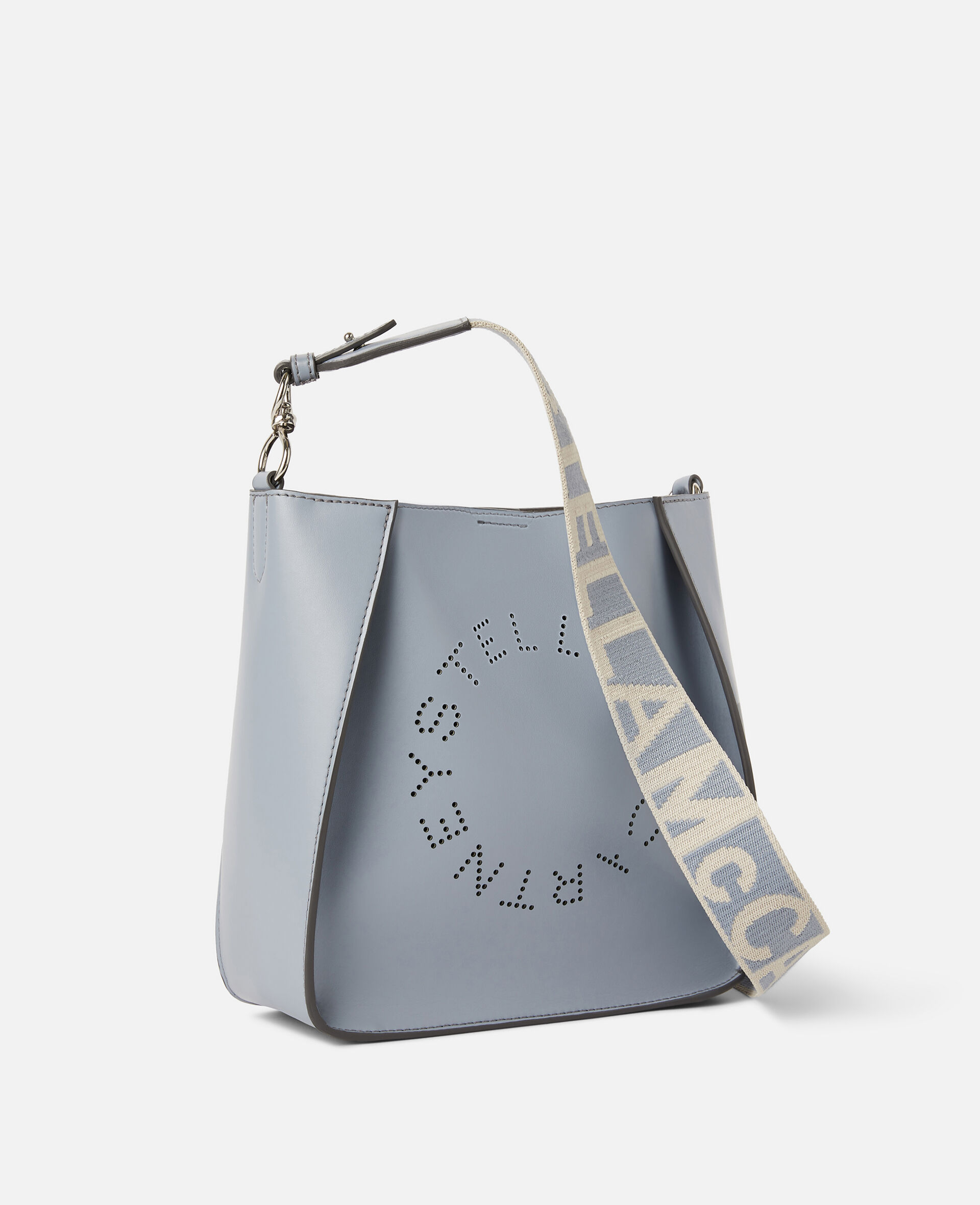 Stella Logo Shoulder Bag-Grey-large image number 1