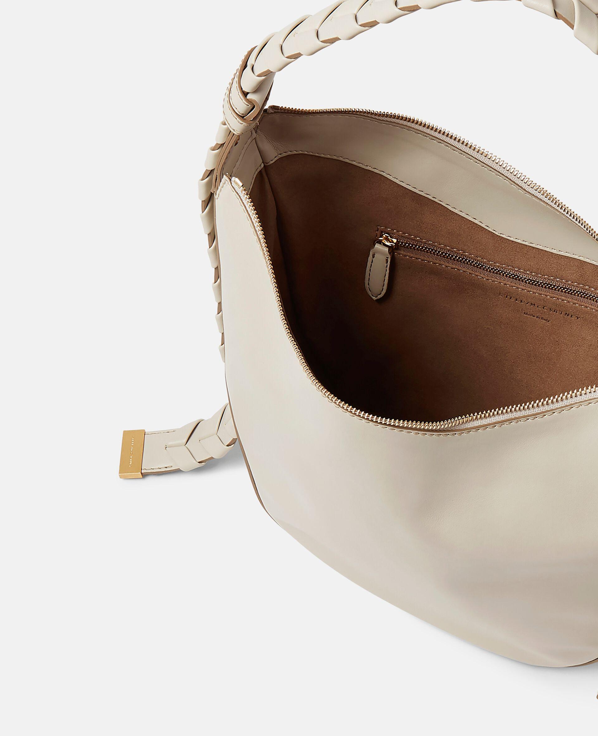 Sac porté épaule zippé Hobo format moyen-Noir-large image number 3