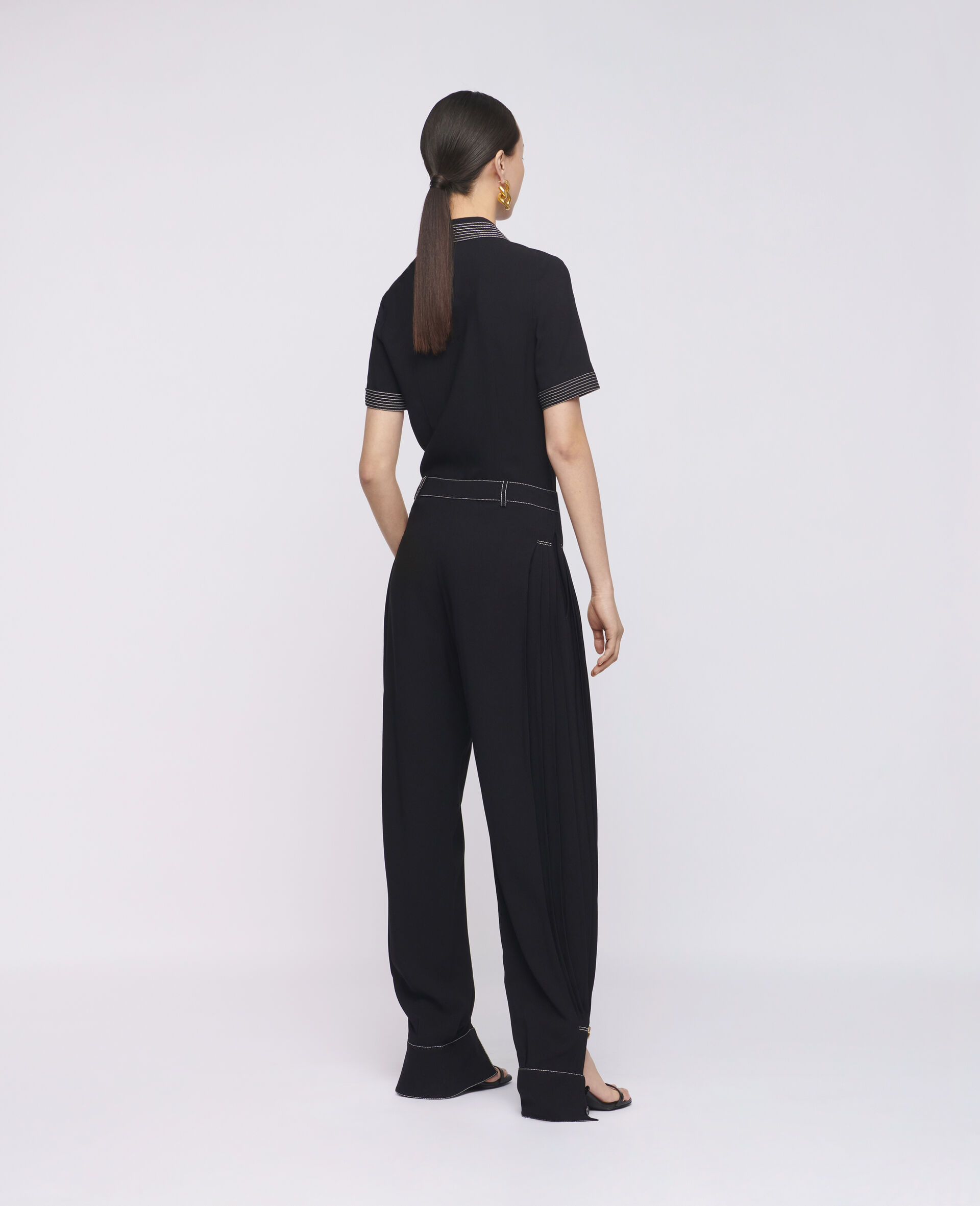 Rosa 衬衫-黑色-large image number 2