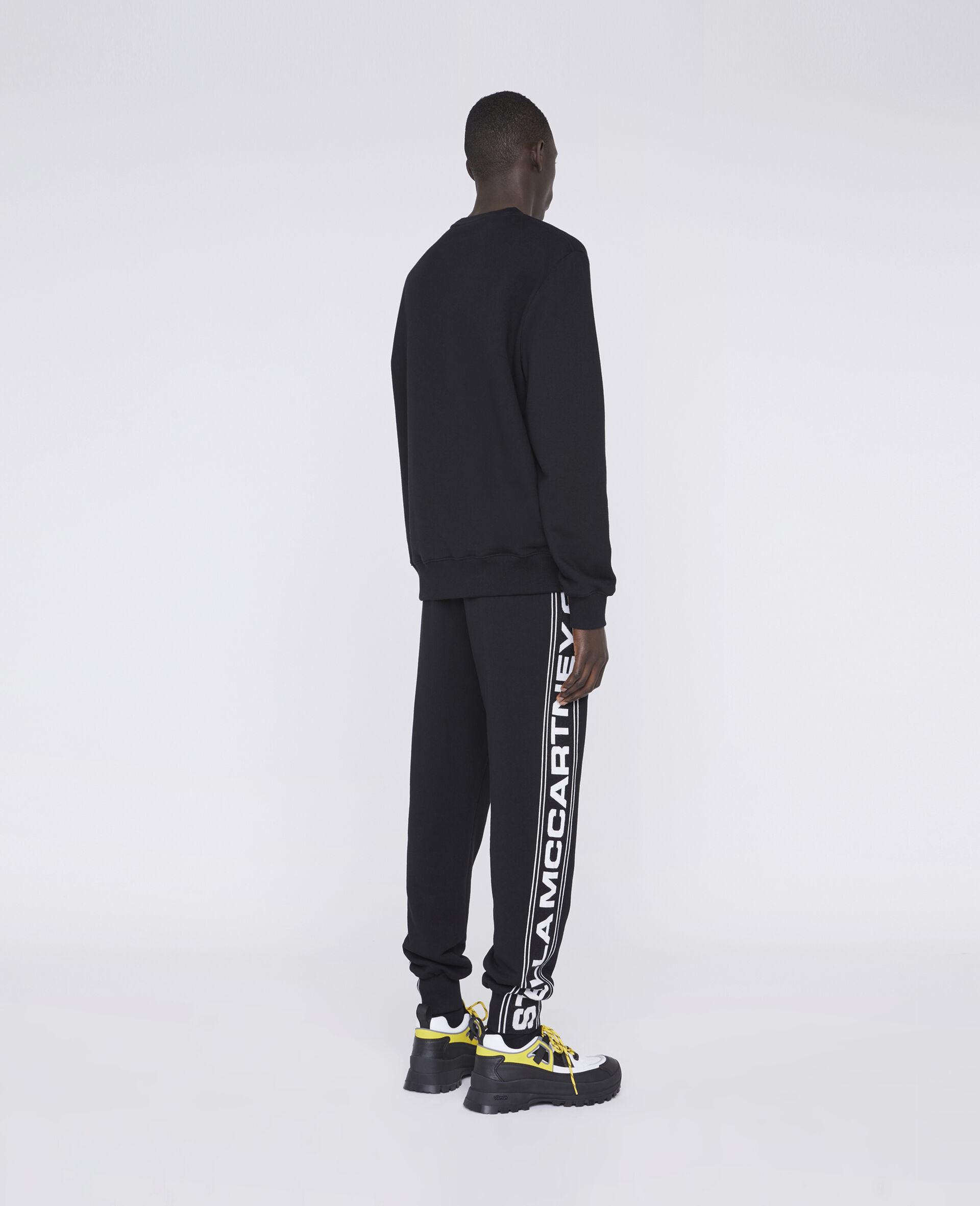23 OBS Organic Cotton Sweatshirt-Black-large image number 2
