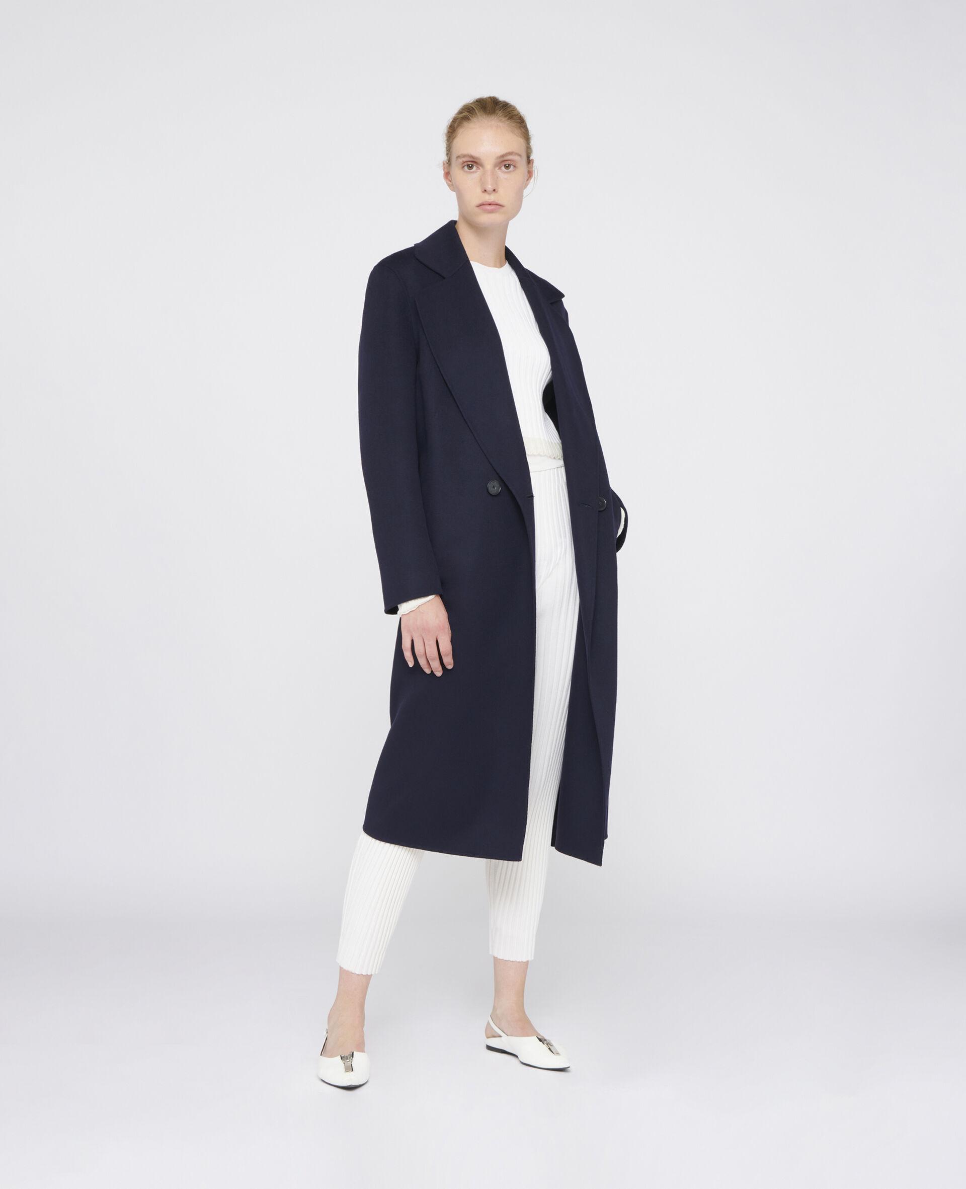 Erika Wool Coat-Blue-large image number 1