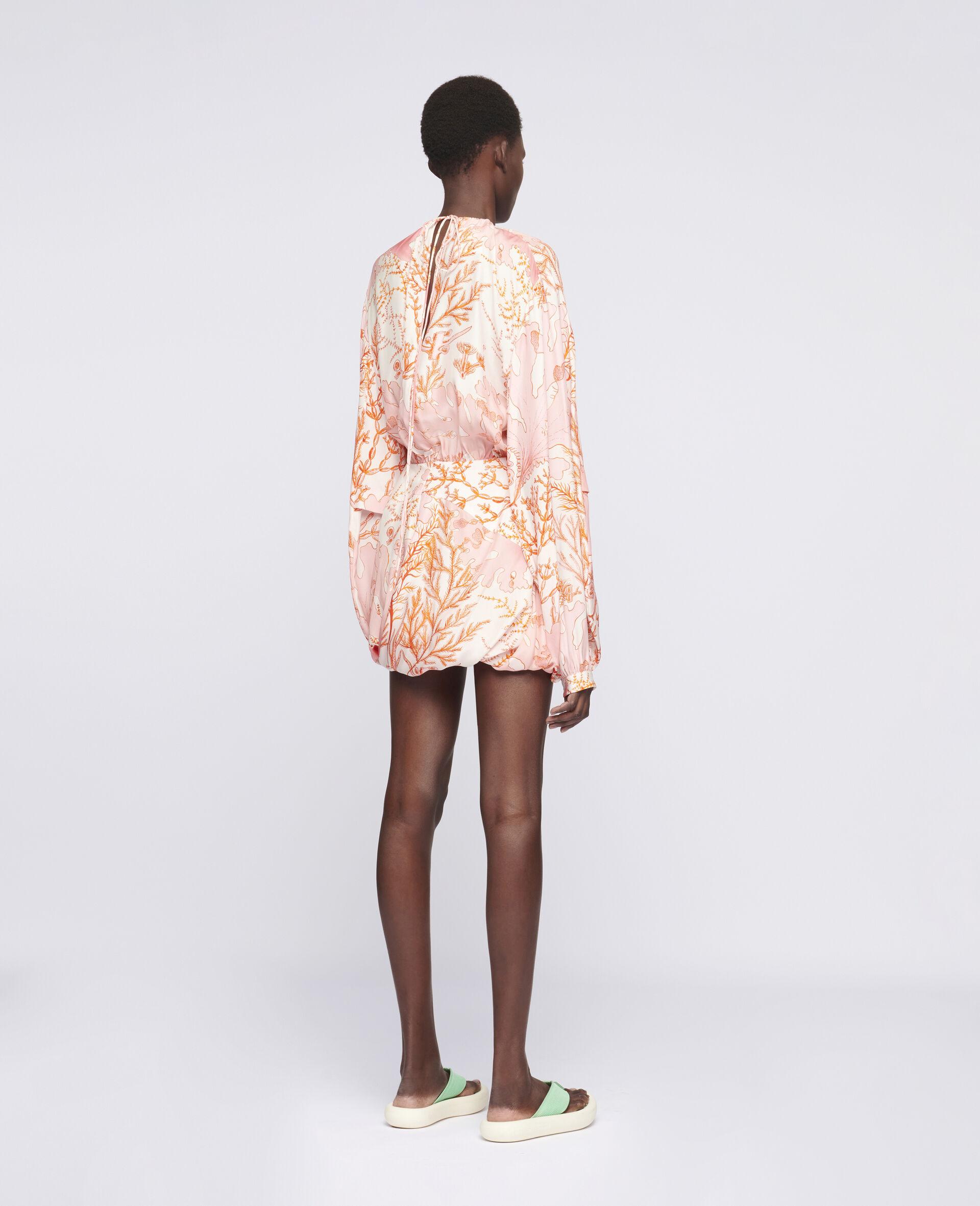 Amanda Silk Dress-Multicolour-large image number 2