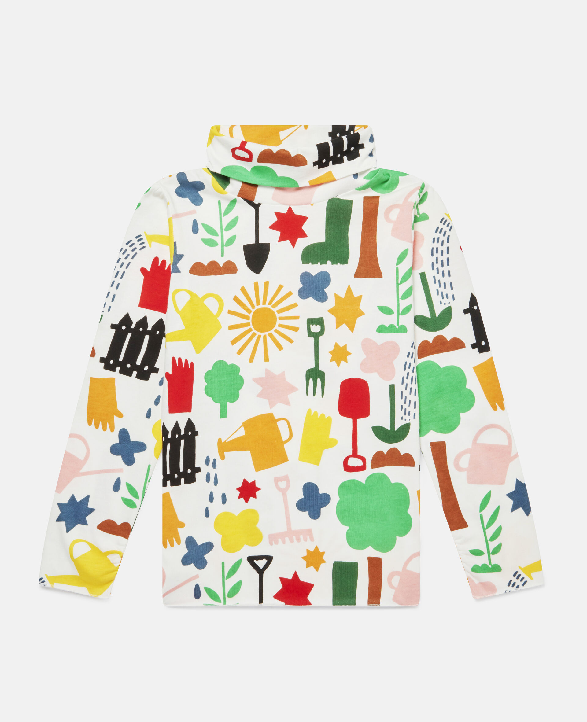 Garden Cotton Top -White-large image number 0