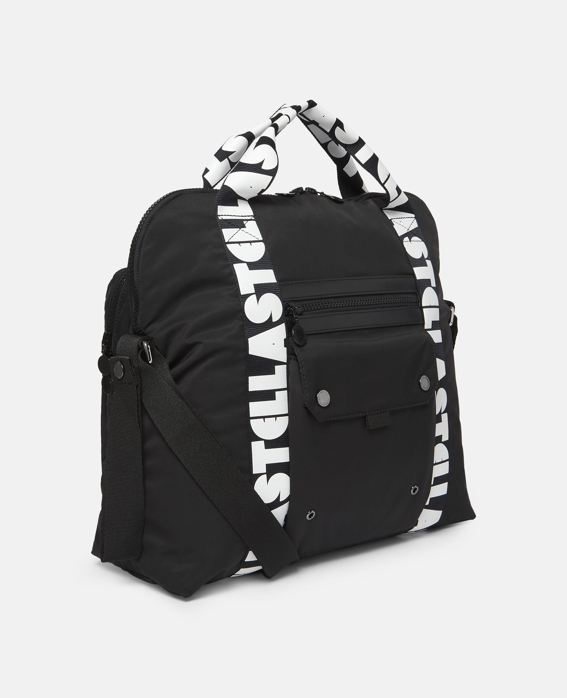 Stella Logo Diaper Bag-Black-large image number 1