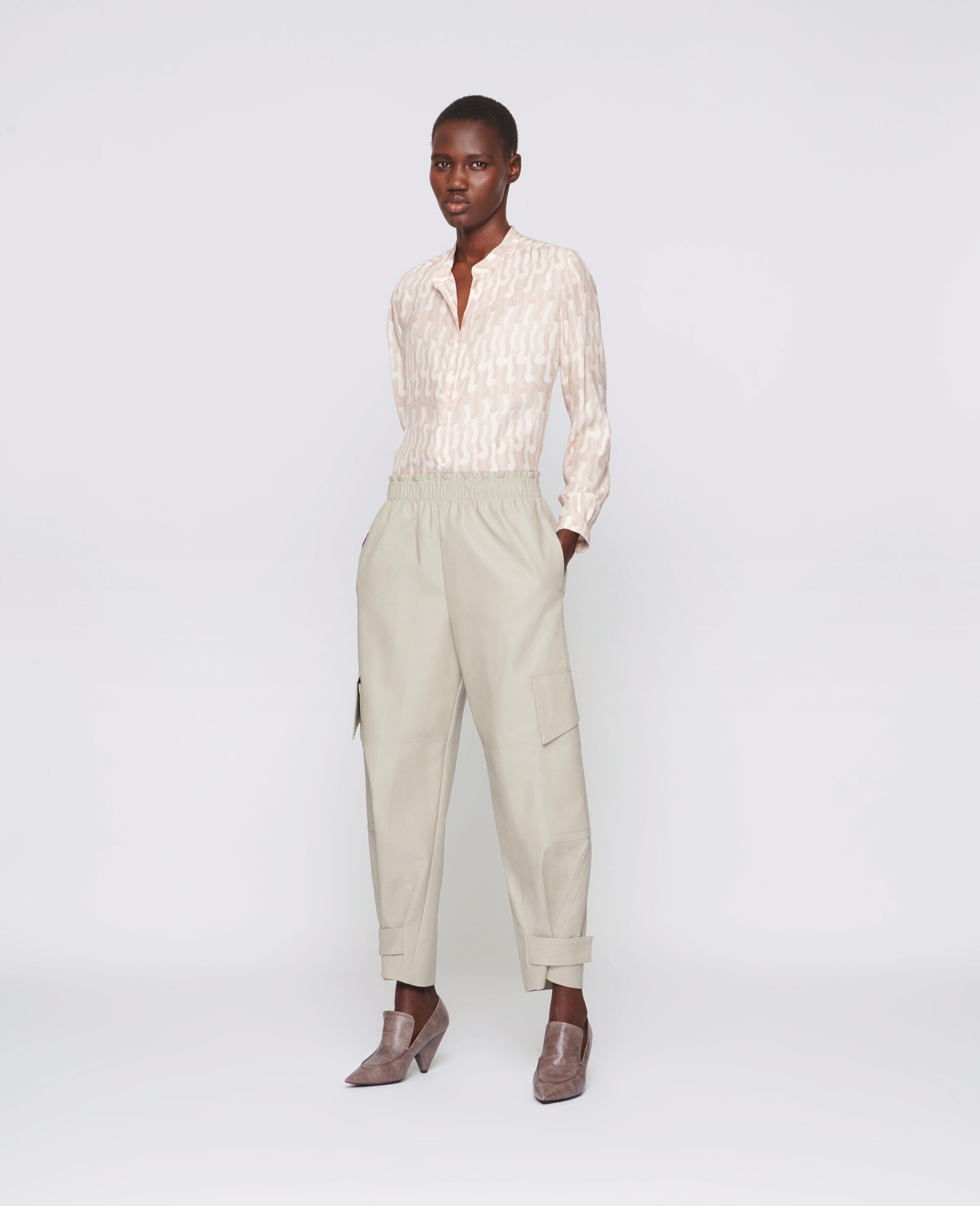 Sylvia Trousers-Beige-large image number 1