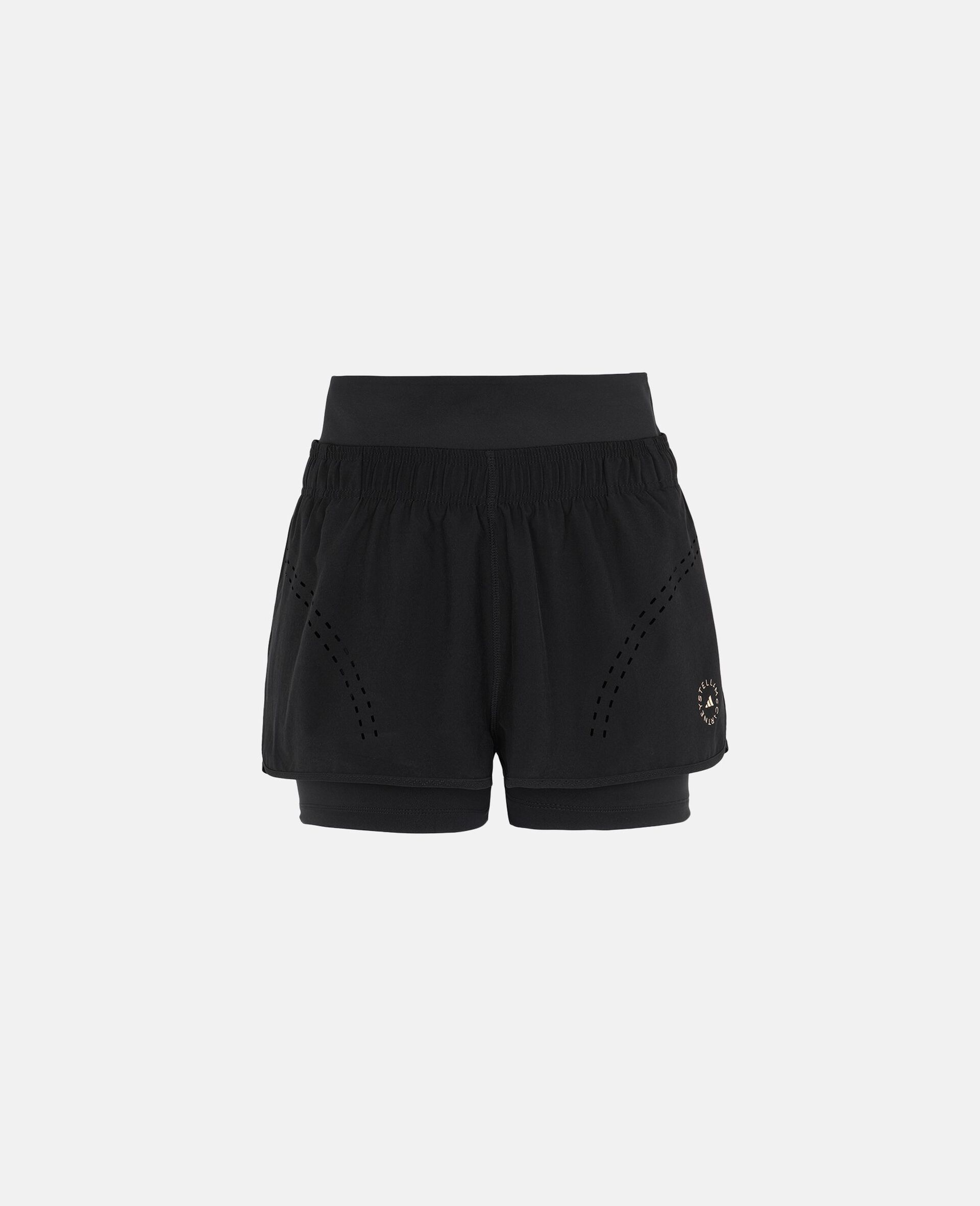 Black TruePurpose Training Short-Black-large image number 0