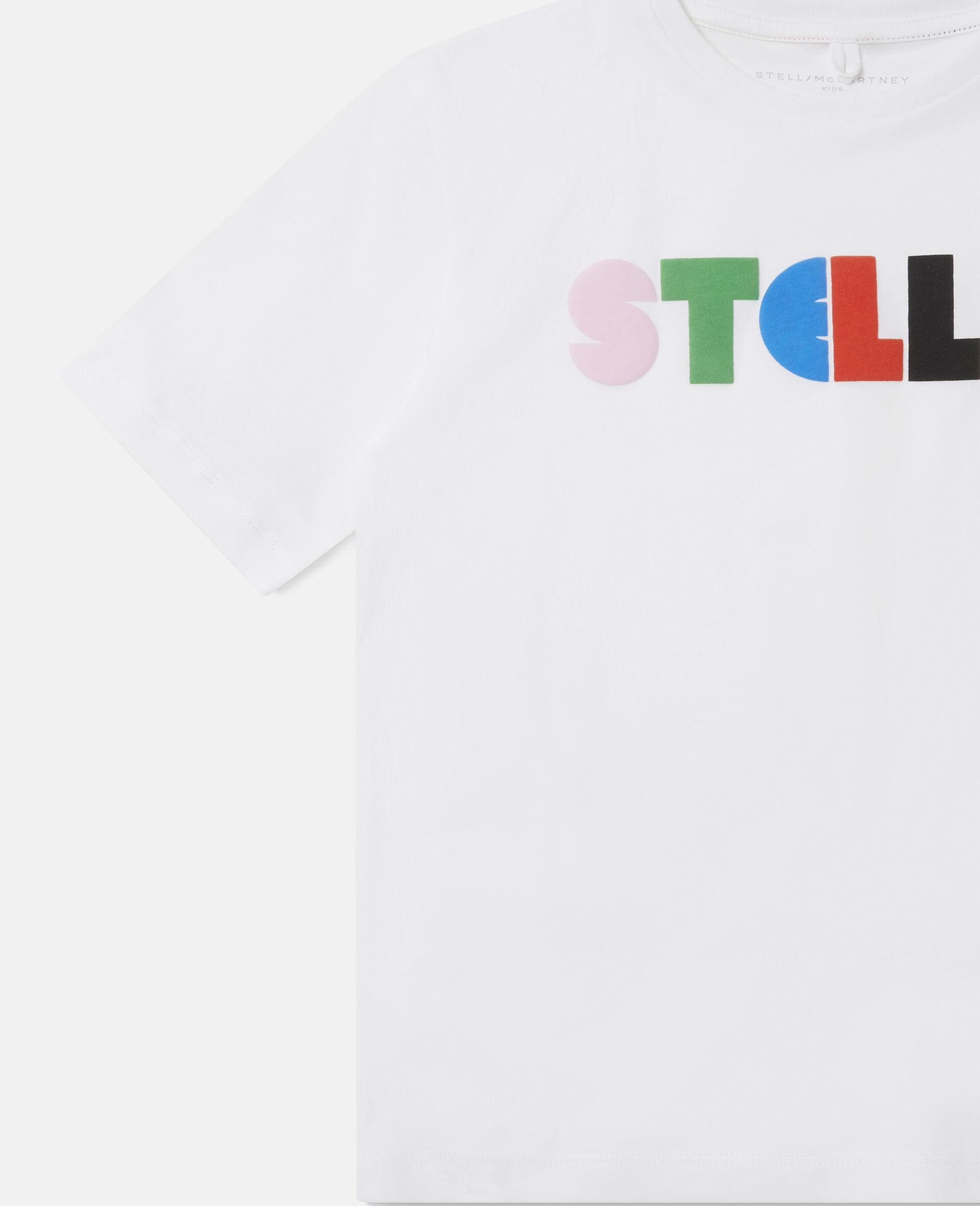 T-shirt oversize en coton Stella -Noir-large image number 2