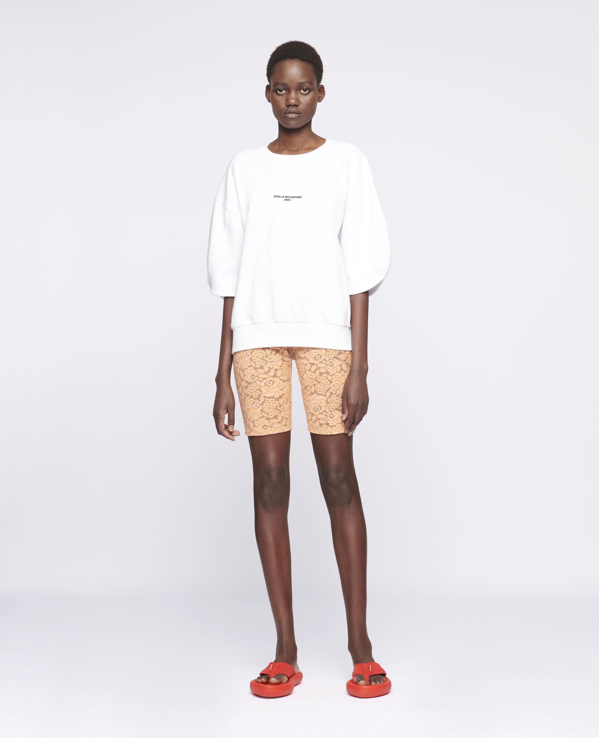 Isla Lace Shorts-Orange-large image number 1