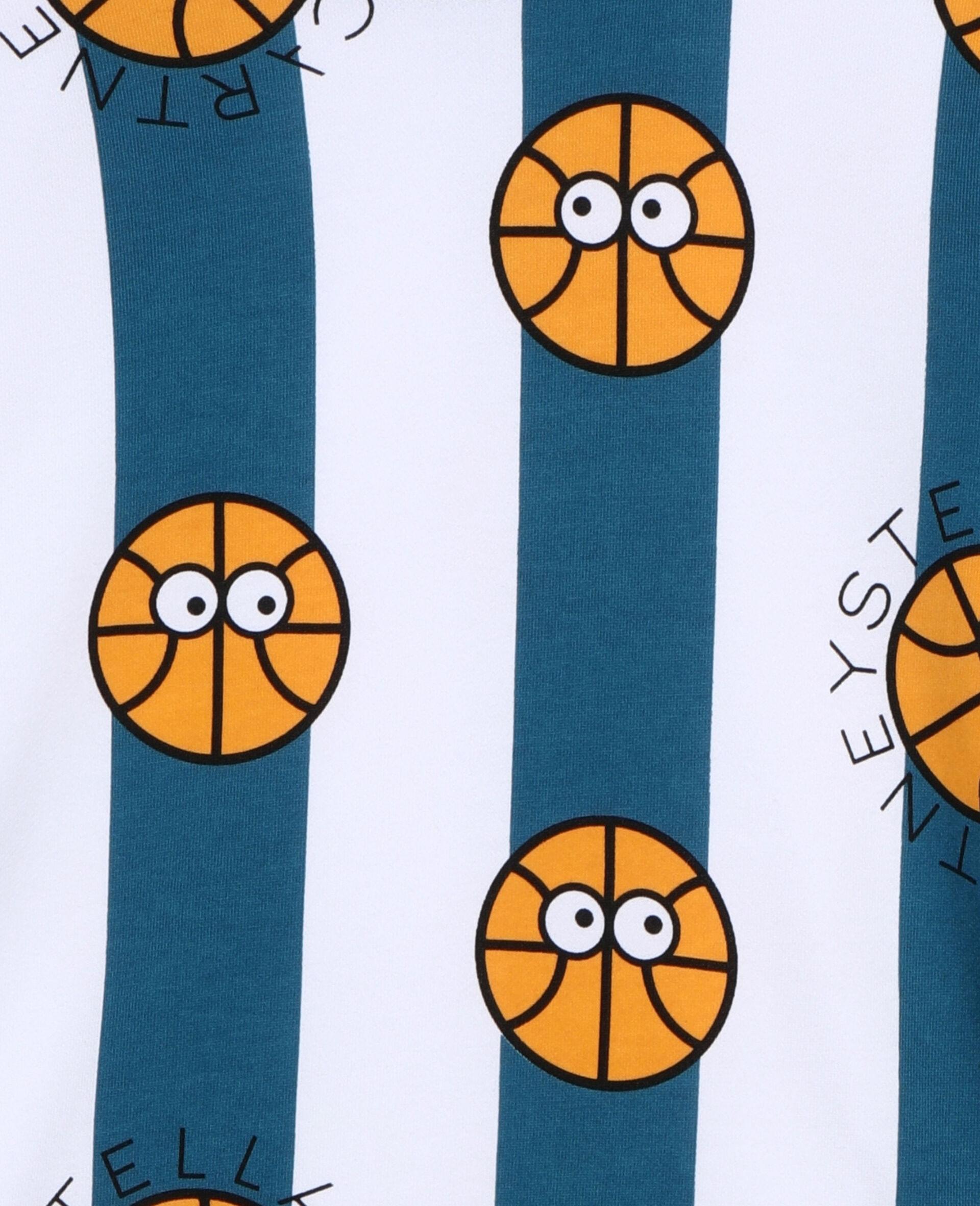Basketball Cotton Sweatshirt -Multicoloured-large image number 1
