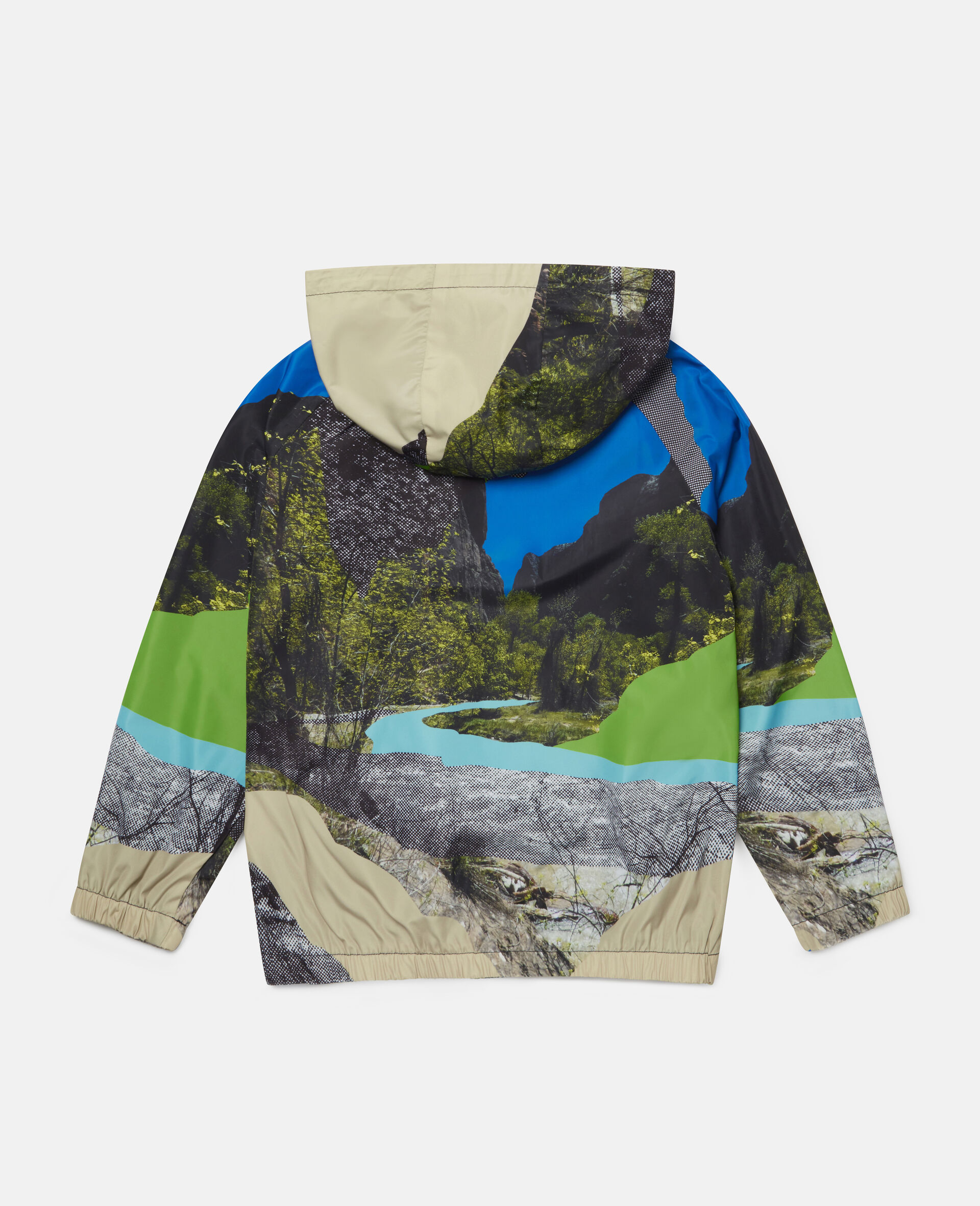 Landscape Hooded Jacket-Multicolour-large image number 3