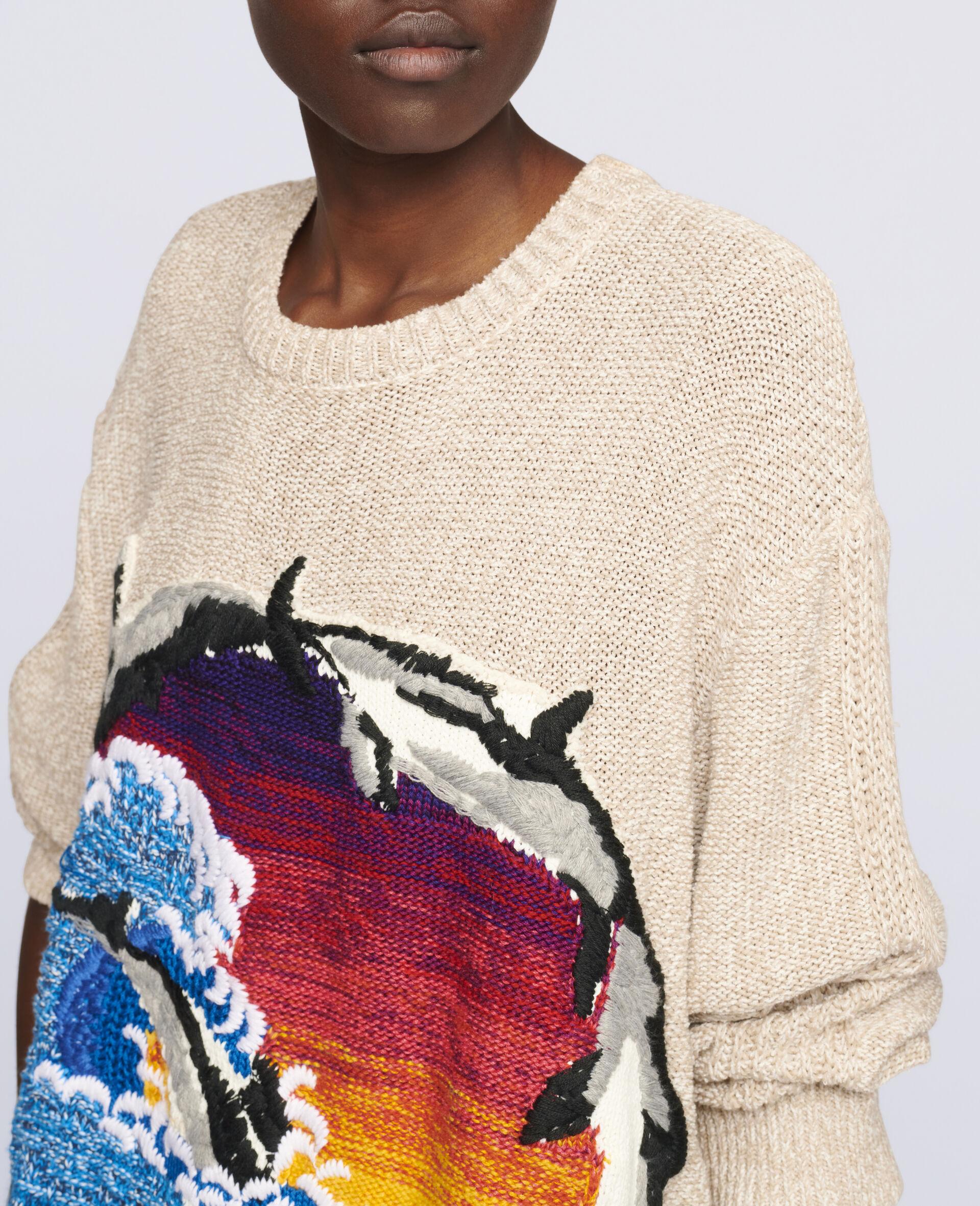 Intarsia Jumper-Multicolour-large image number 3