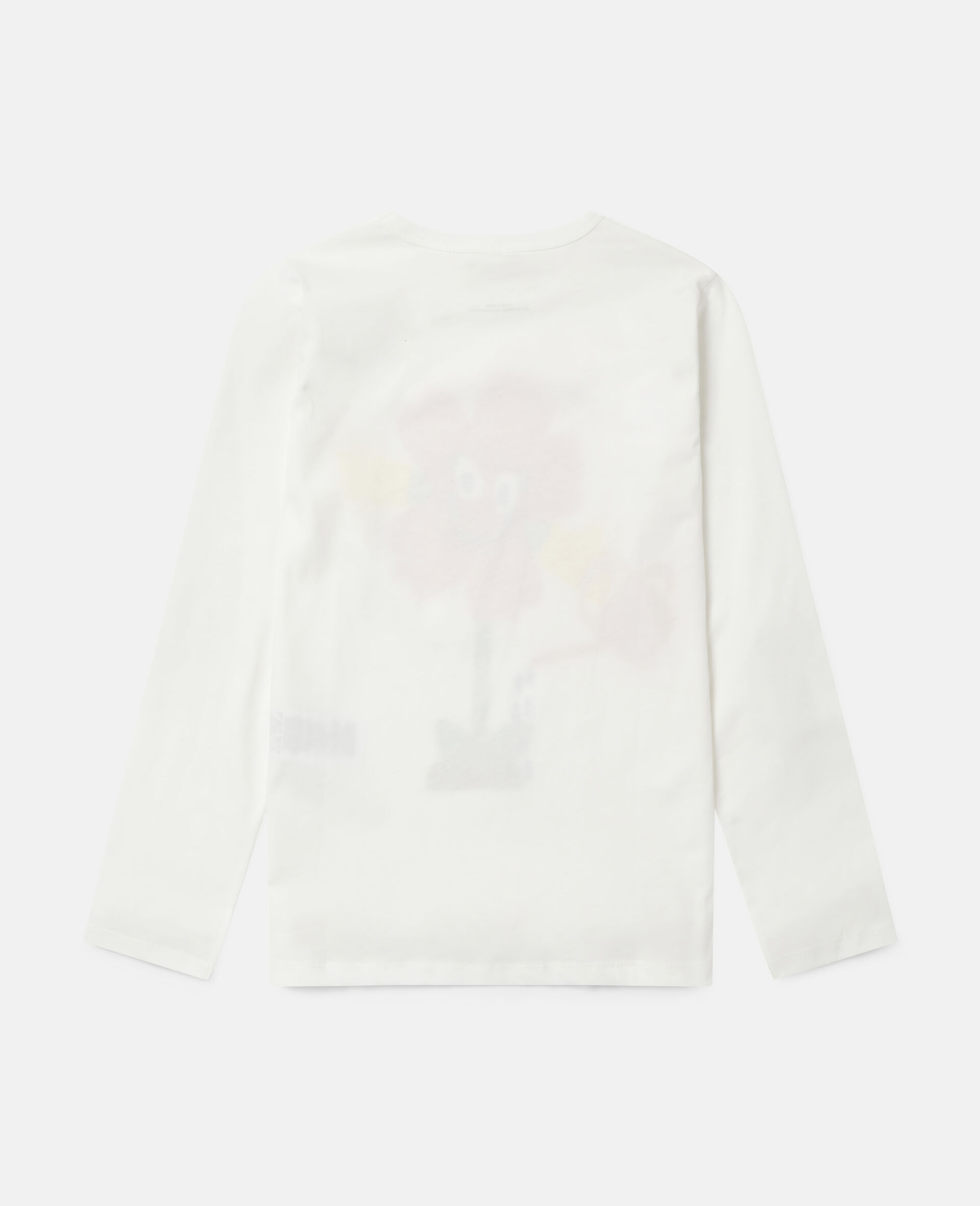Watering Flower Cotton Top -White-large image number 3