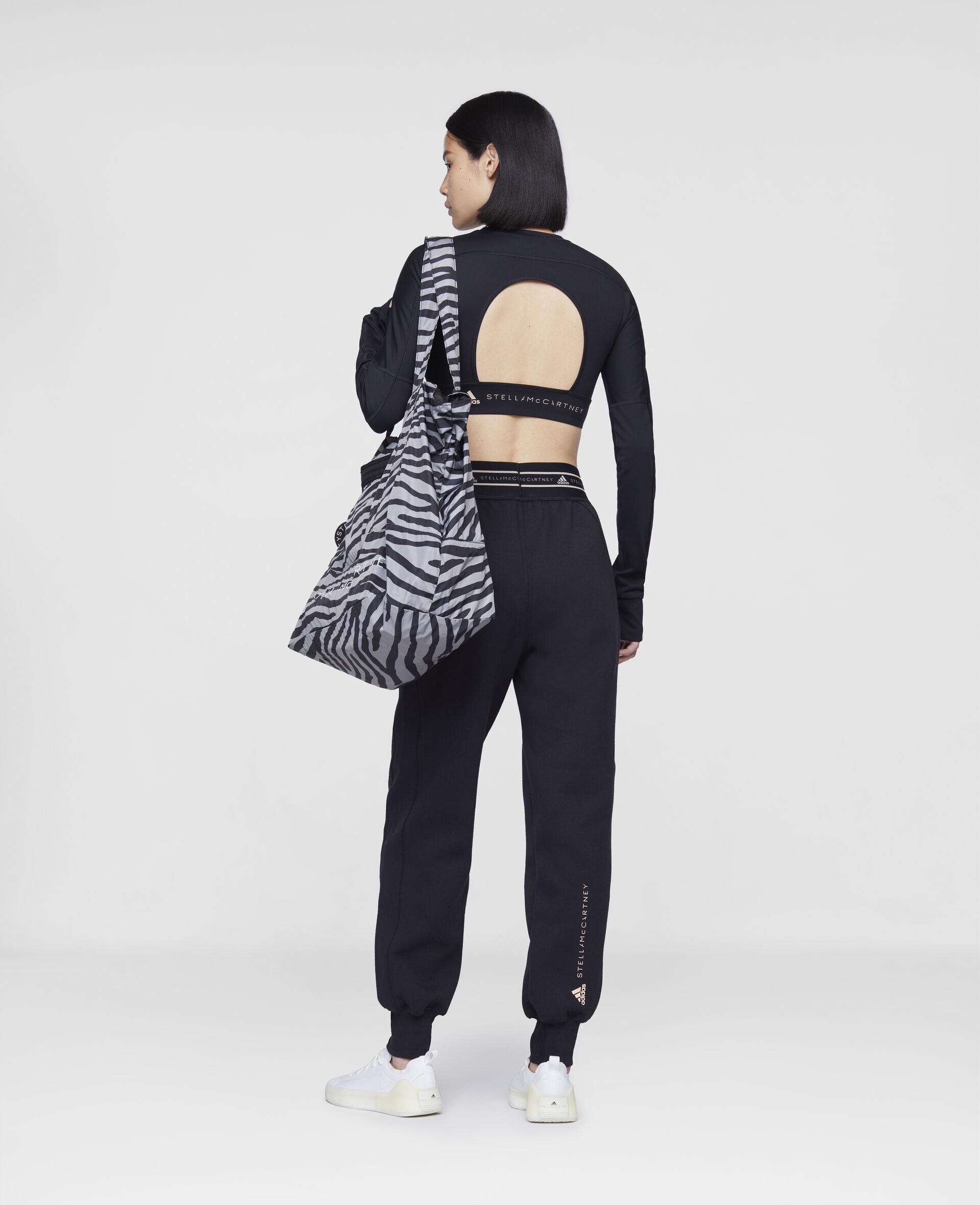 Black Training Sweatpants-Black-large image number 2