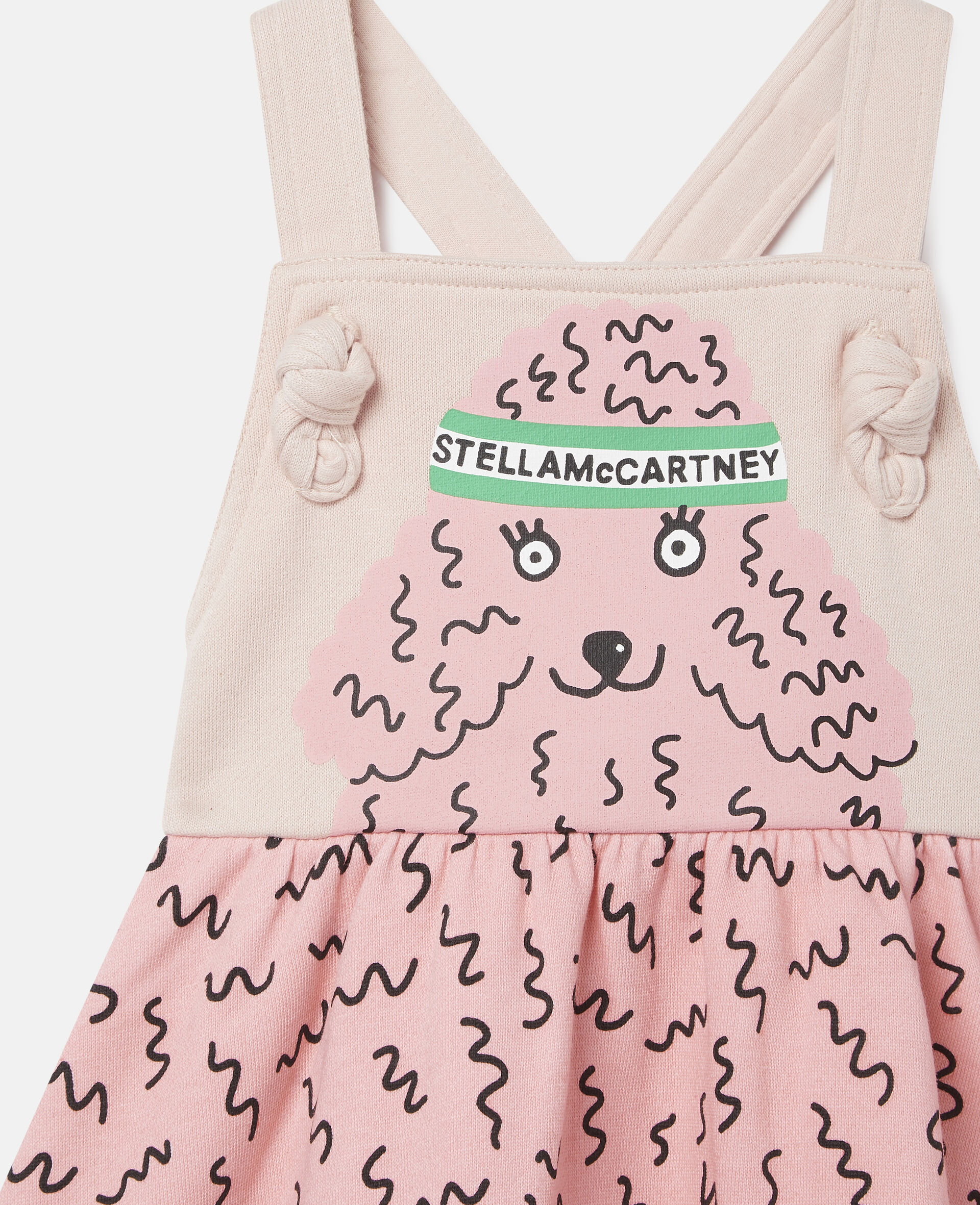 Doodle Poodle Fleece Dress-Pink-large image number 2