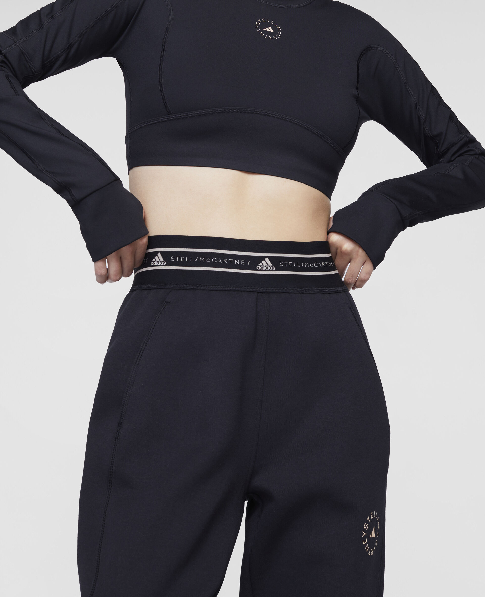 Black Training Sweatpants-Black-large image number 3