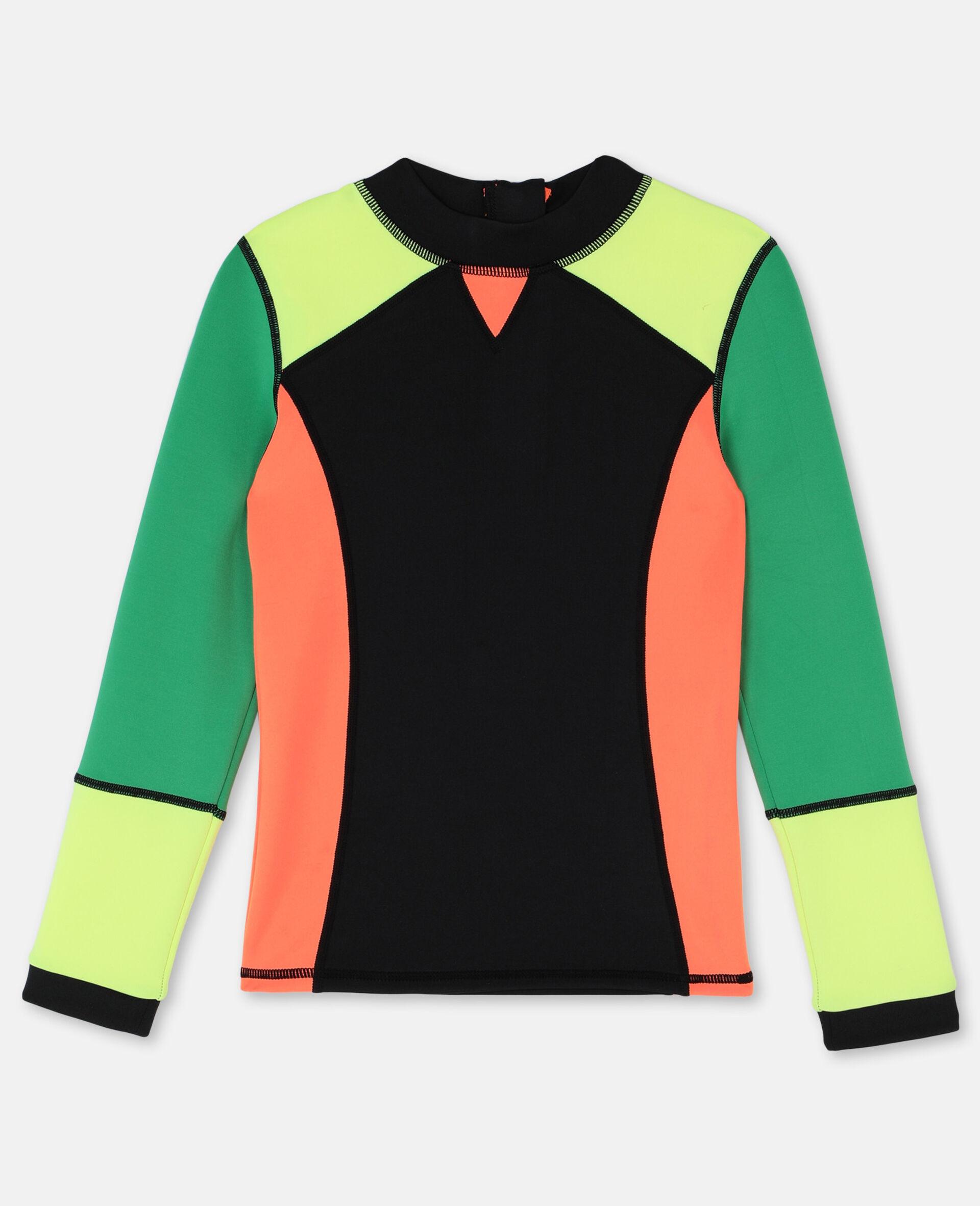 多色潜水游泳 T 恤 -Multicolored-large image number 0