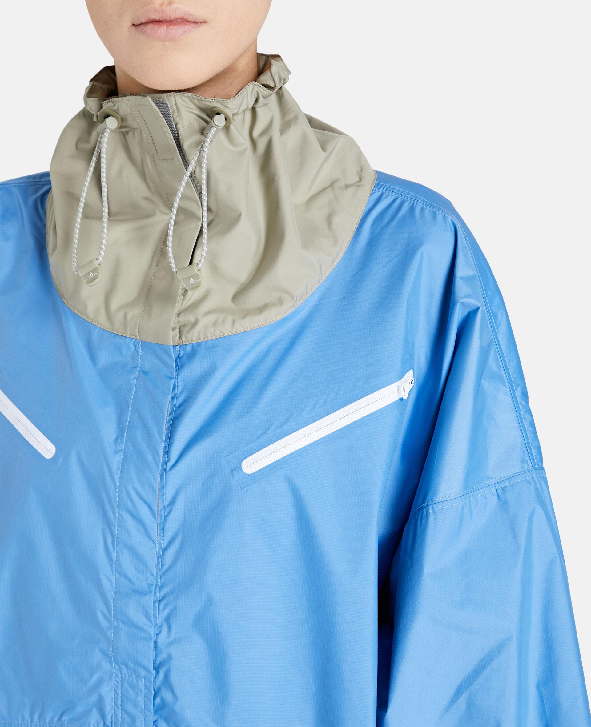 Beach Defender Jacke mit halbem Reißverschluss-Blau-large image number 3