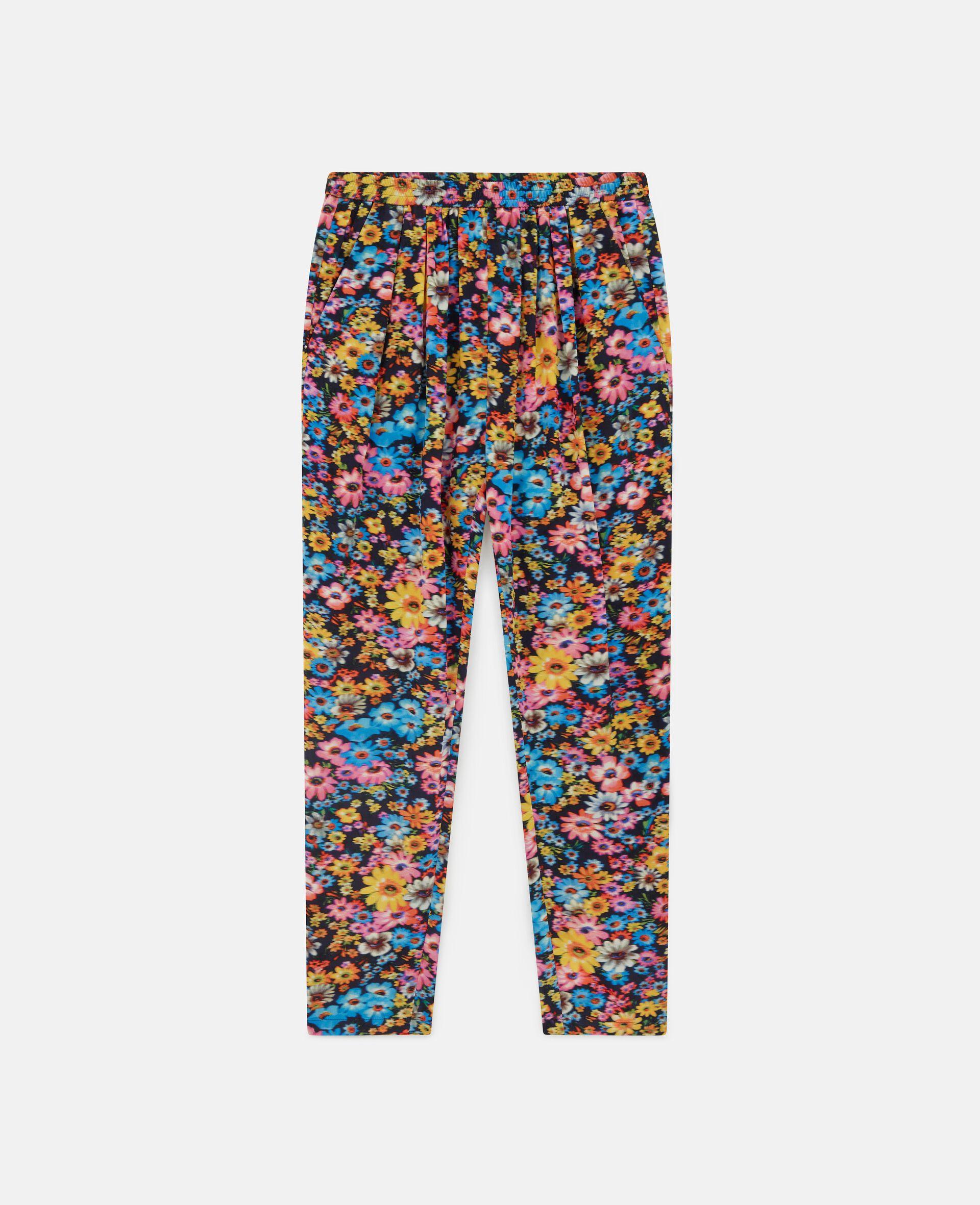 Pantalon en soie Christine-Fantaisie-large image number 0