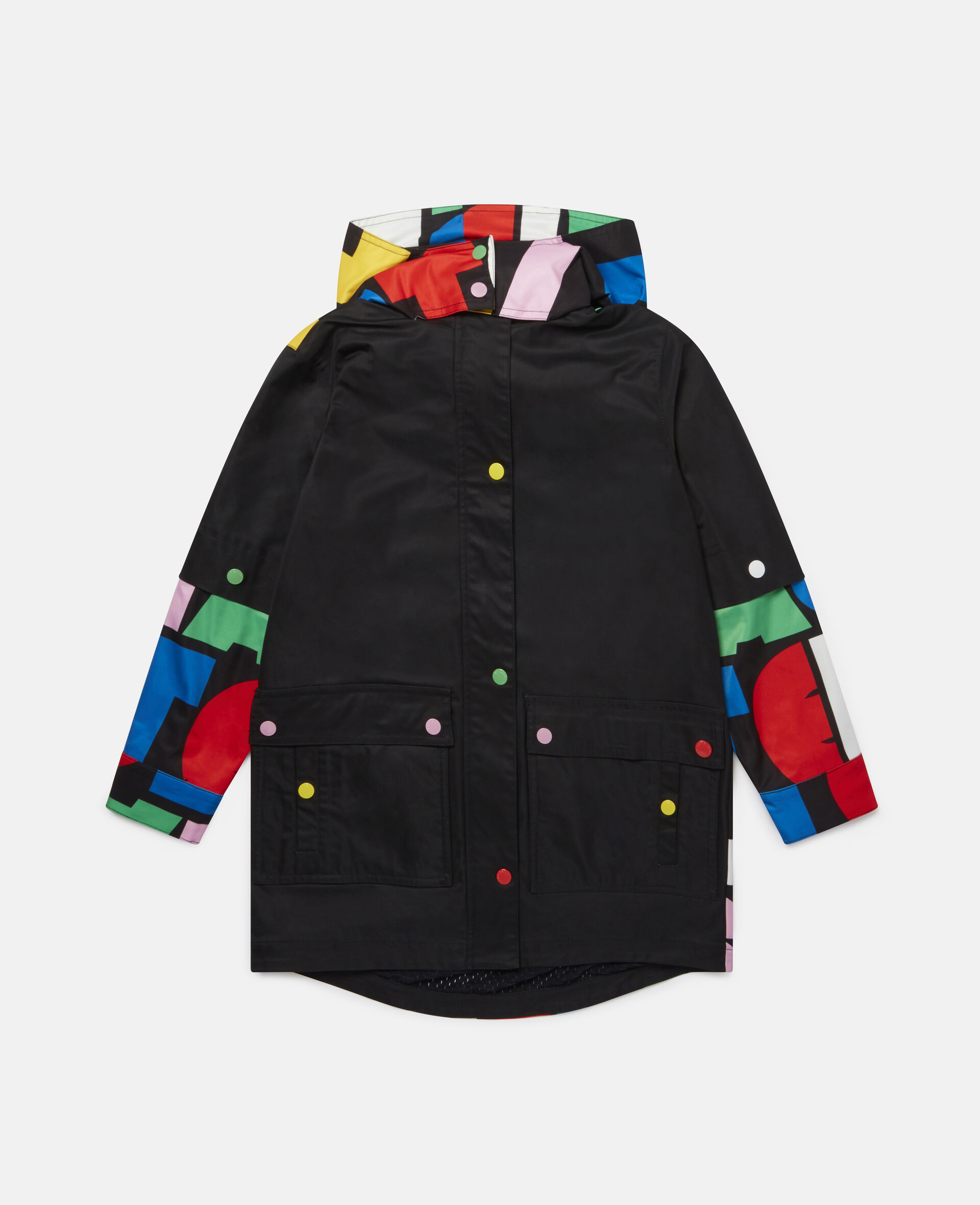 Stella Hooded Parka -Multicolour-large image number 0
