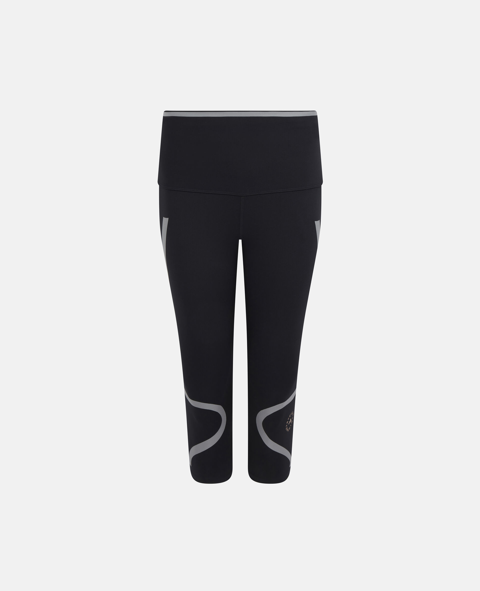TruePace 3/4 Running Tights-Black-large image number 0