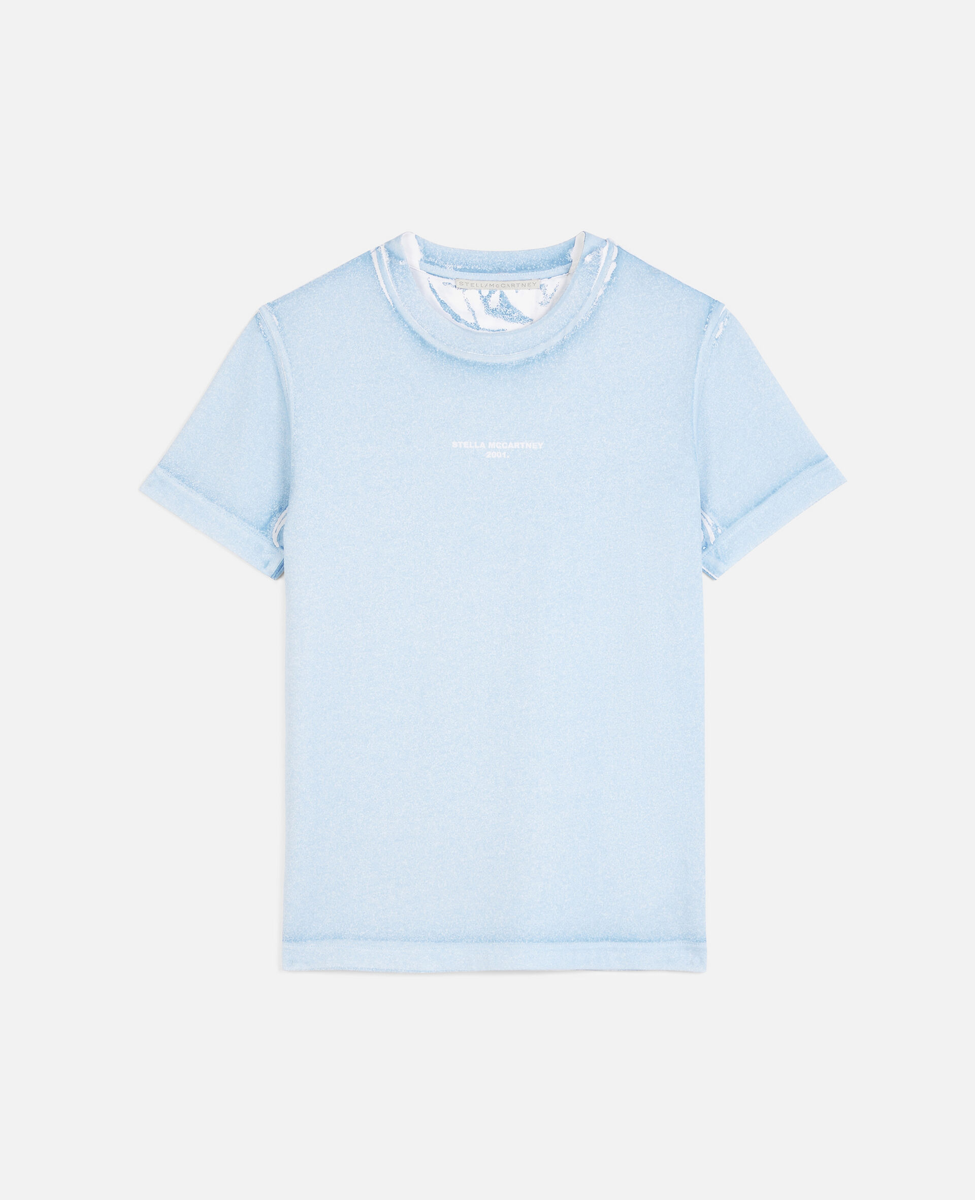 T-Shirt Stella McCartney 2001.-Blu-large image number 0